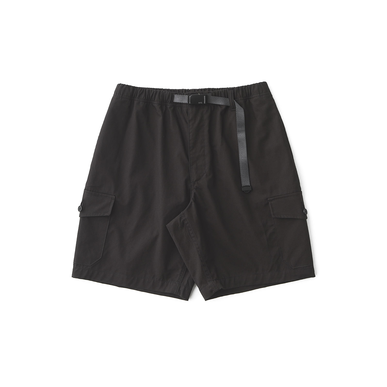 25% OFF_STROLLER DYED SHORTS (Almost Black)