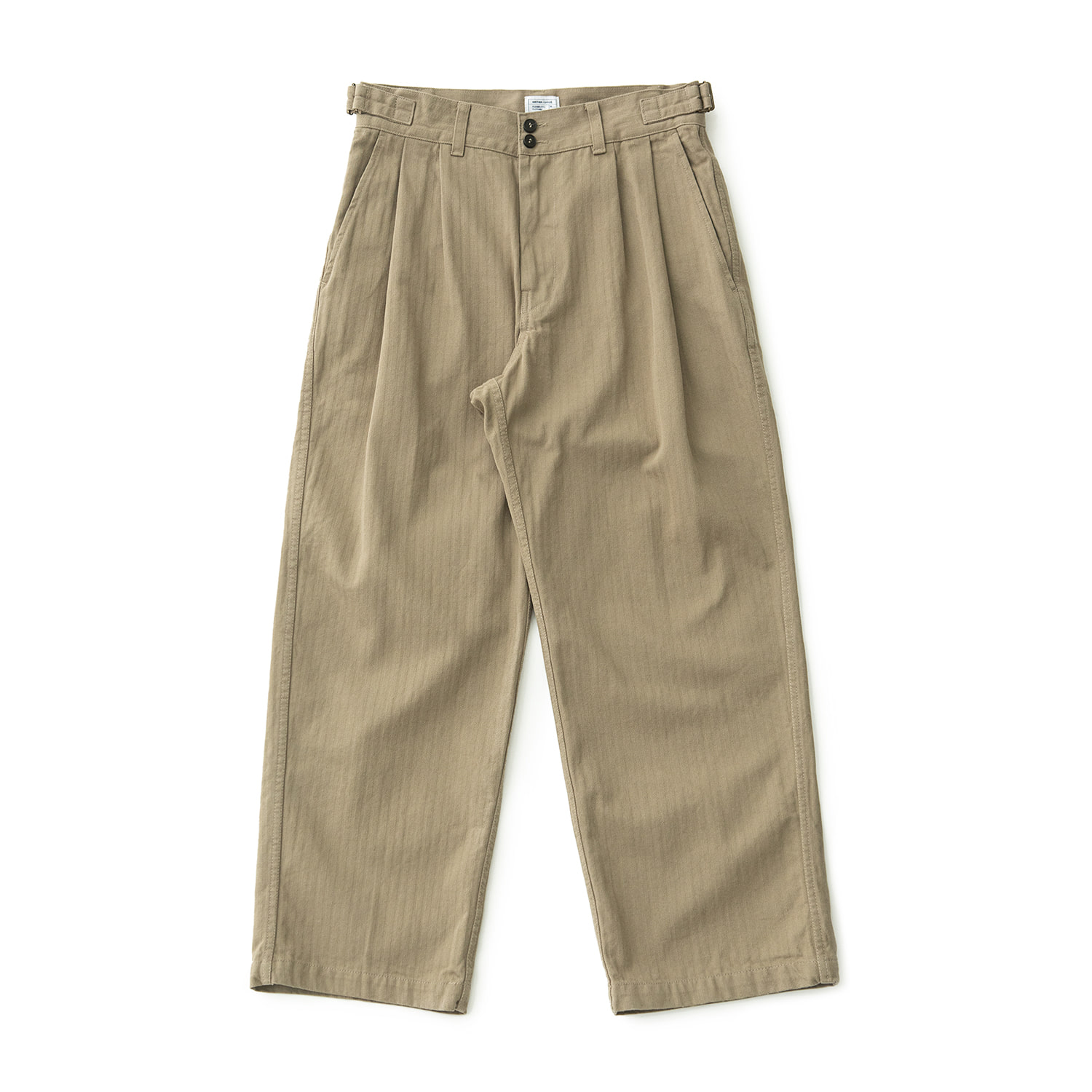 HBT Wide Twotuck Pants (Khaki)