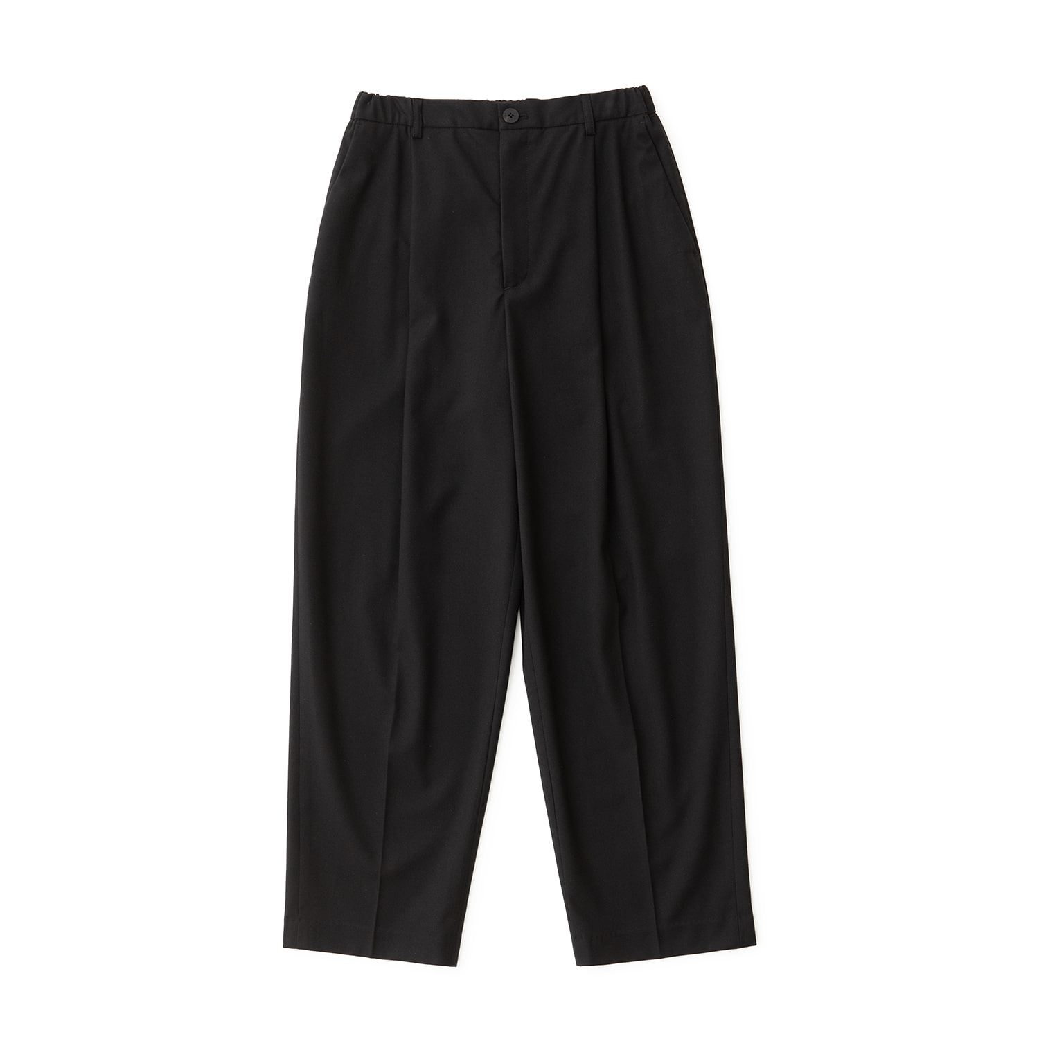 Calm Banded Pants (Black)