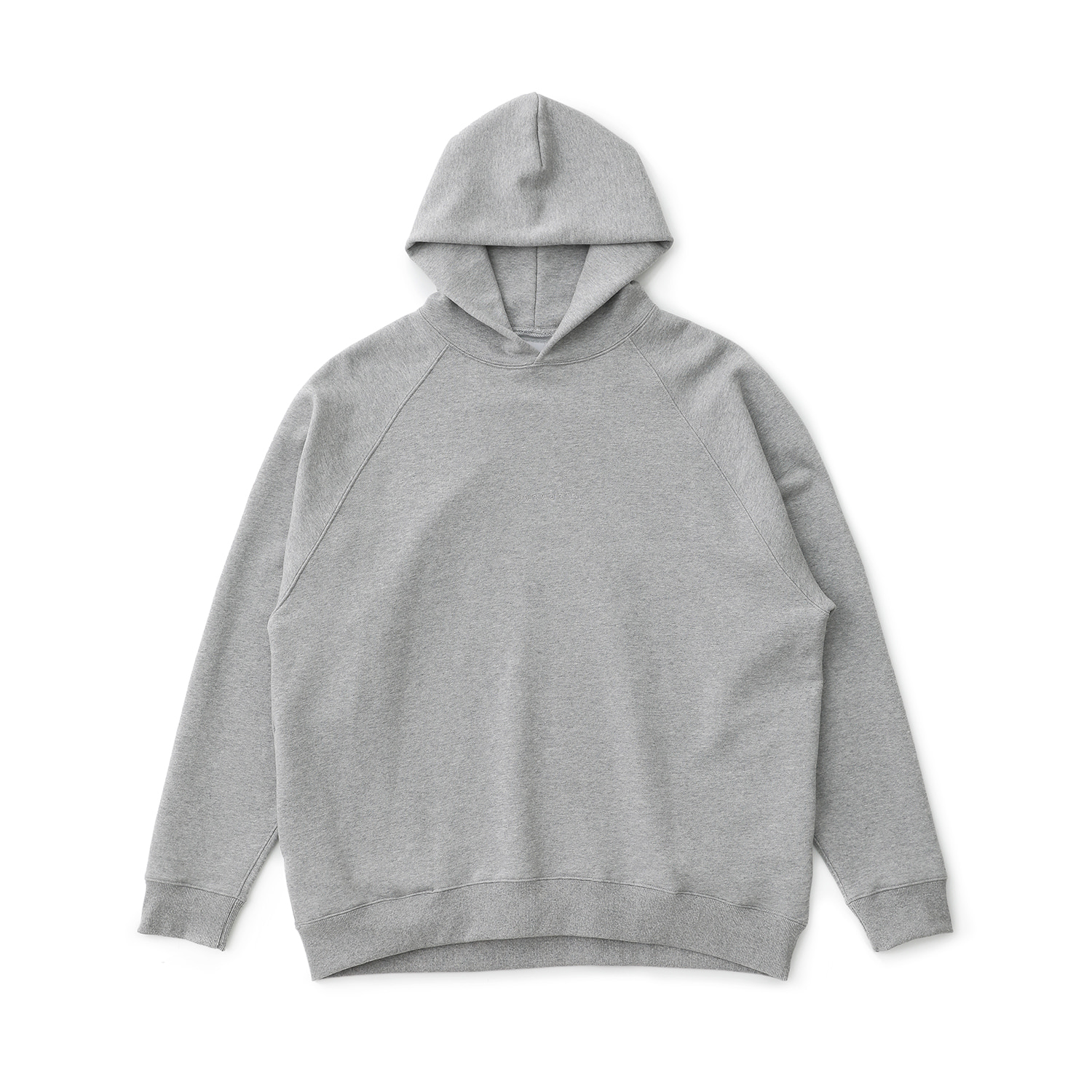 Broad Hoodie Pullover (Heather Gray)