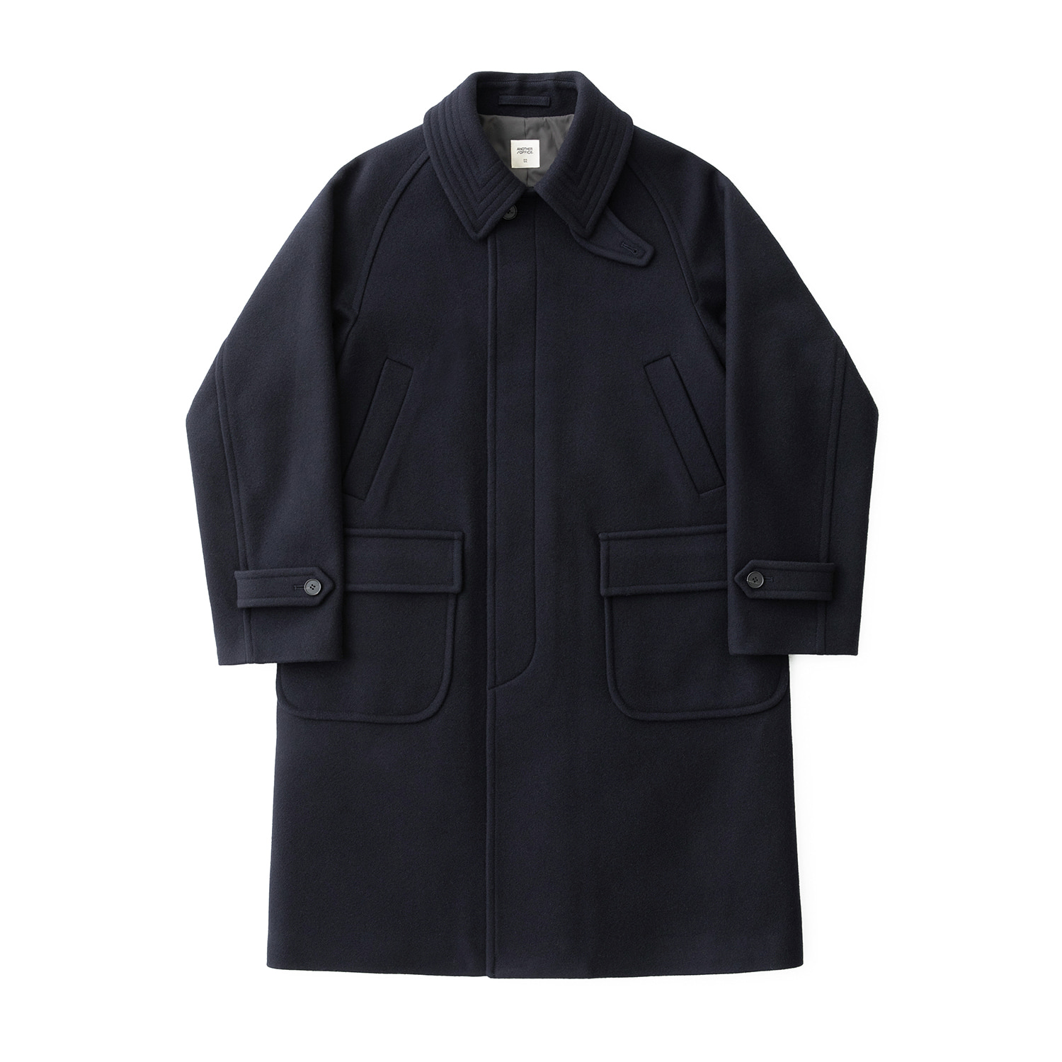 [재입고] Voyager Balmacaan Coat (Dark Navy)
