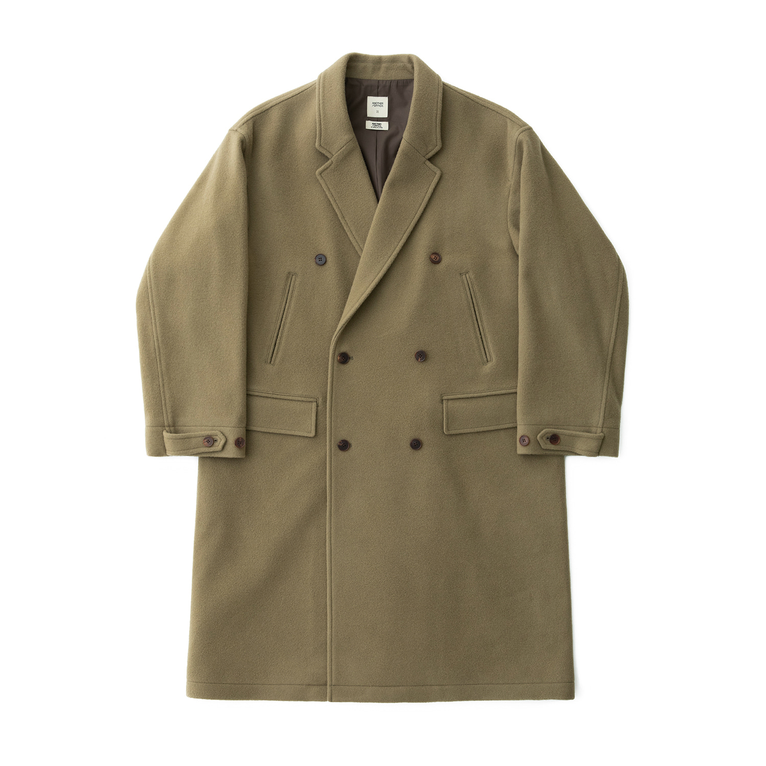 Plenty Mosser Double Coat (Hazy Khaki)
