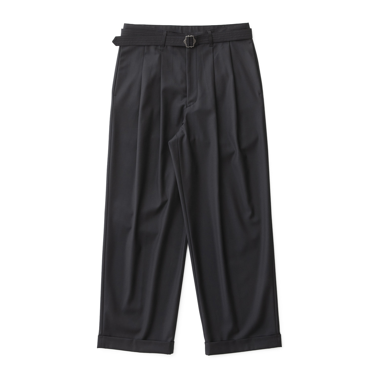 21SS Balance Turn Up Pants (Charcoal Blue)