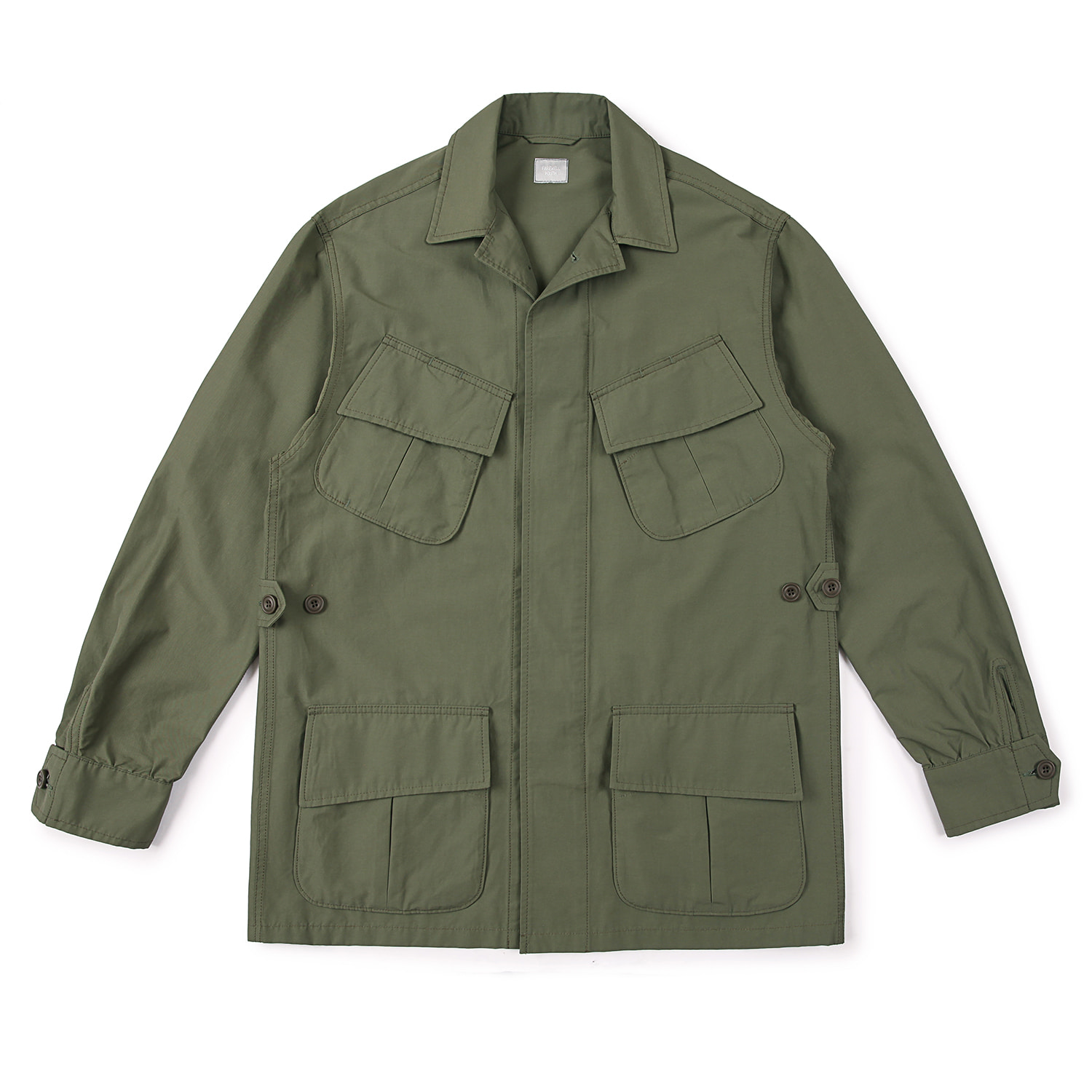 25%OFF_FarewellYouth BDU Jacket  (Olive)
