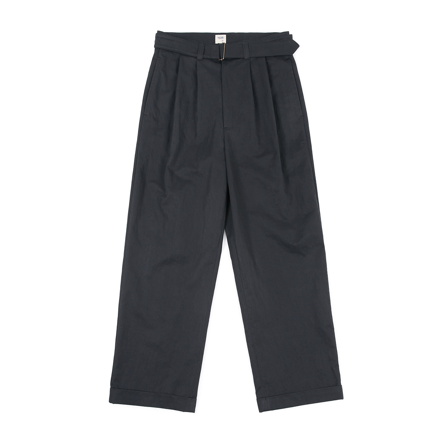 25%OFF_Hemingway Belted Turn-up Pants (Mid Night)