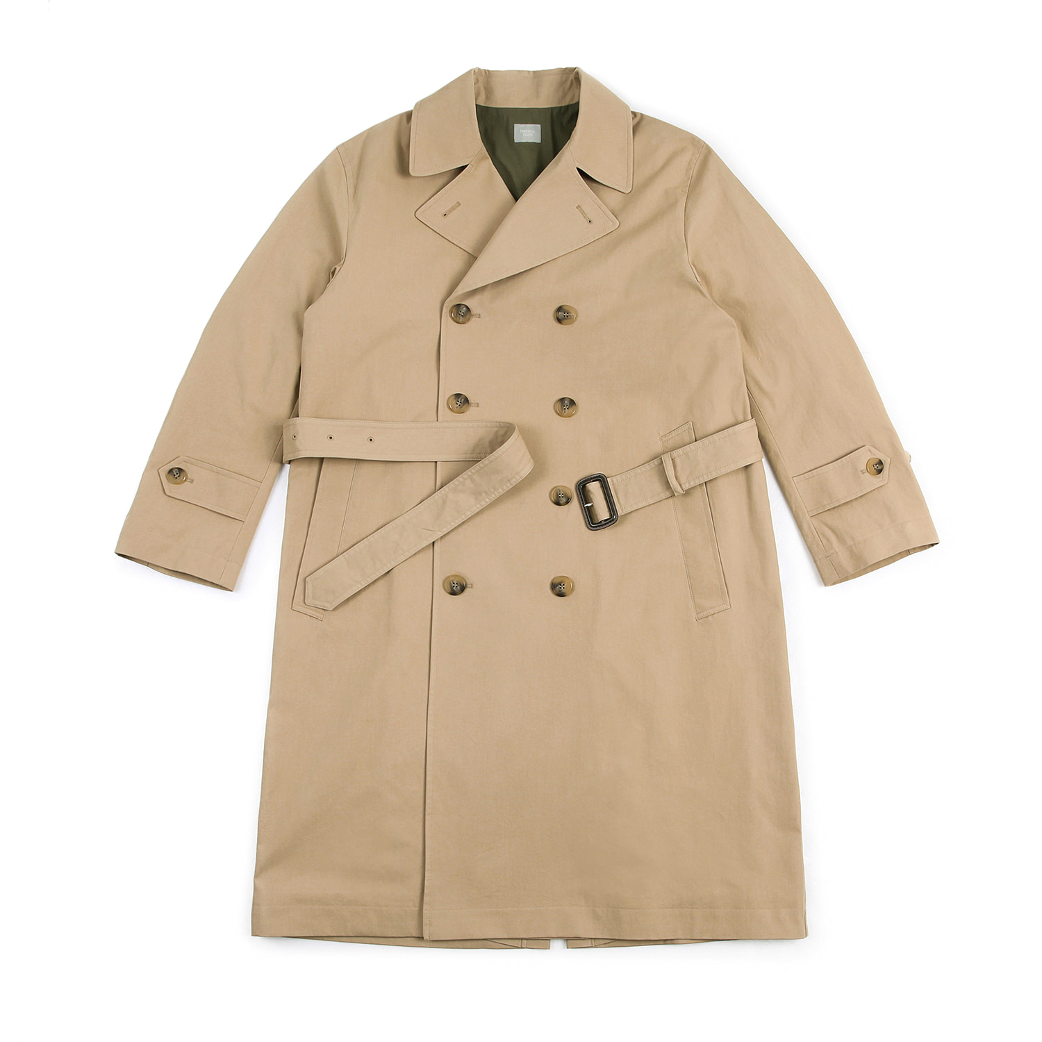 25%OFF_Farewell Youth Trench Coat (Beige)