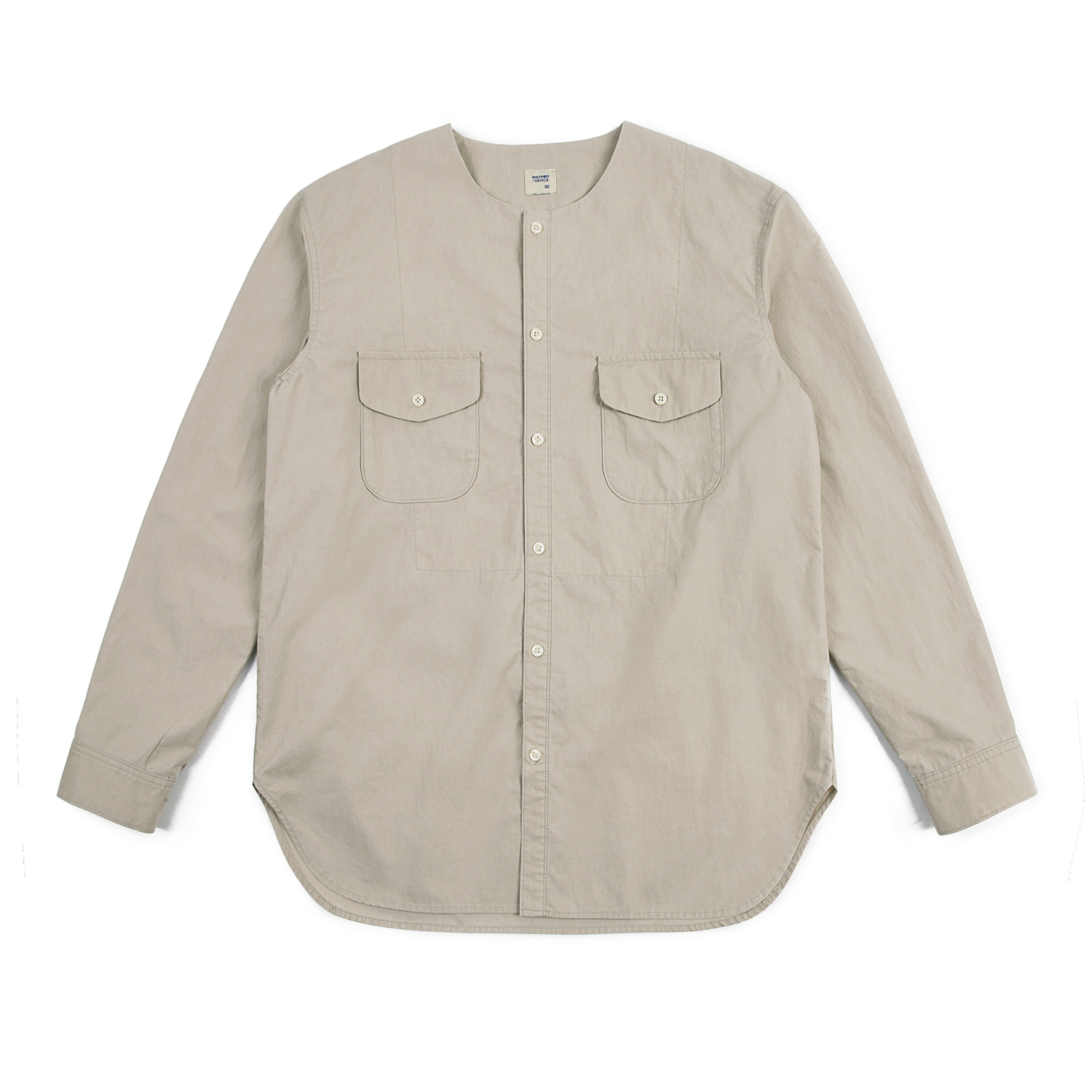 25%OFF_18SS/Typewriter Pigment Shirt (Oatmeal)