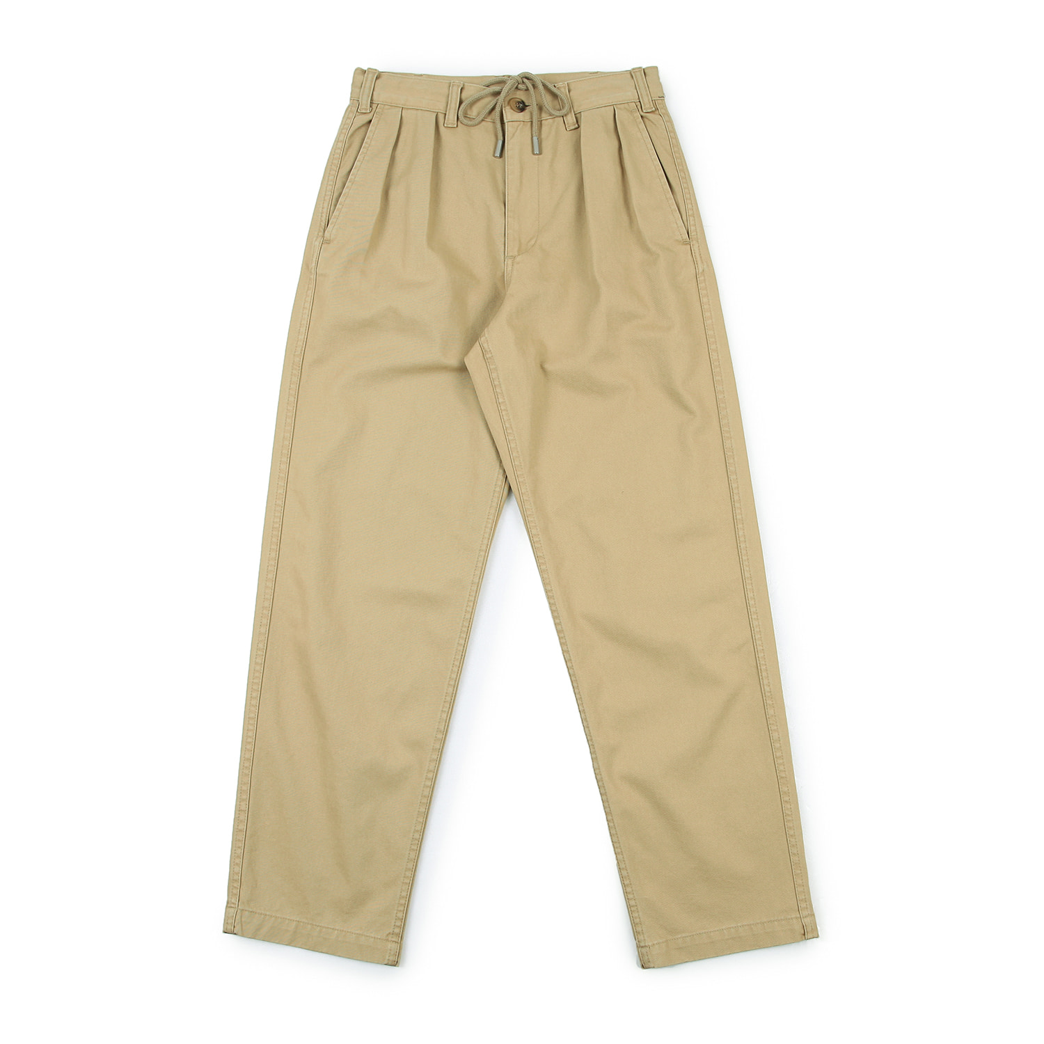 25%OFF_Lifetime Two-Tuck Pants (Sand)