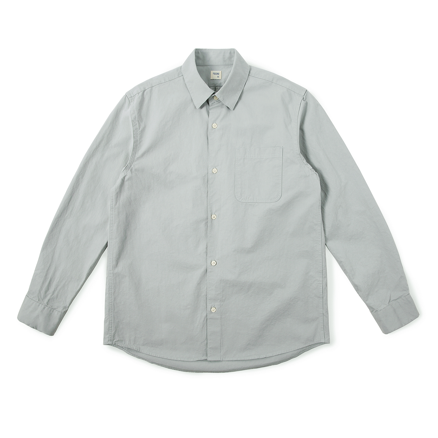 25%OFF_Daily Life Shirt (Steel Grey)
