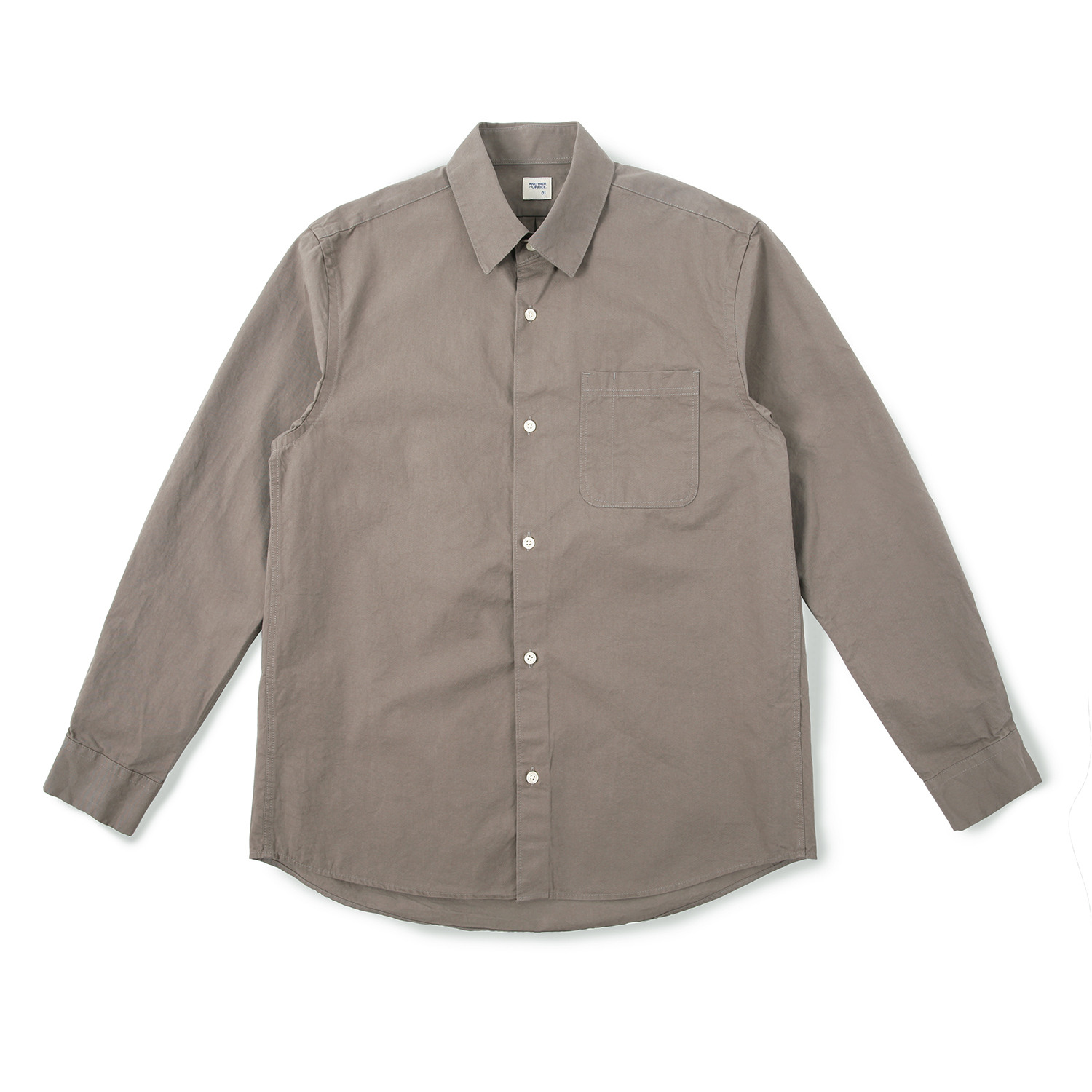 25% OFF_Daily Life Shirt (Brown)