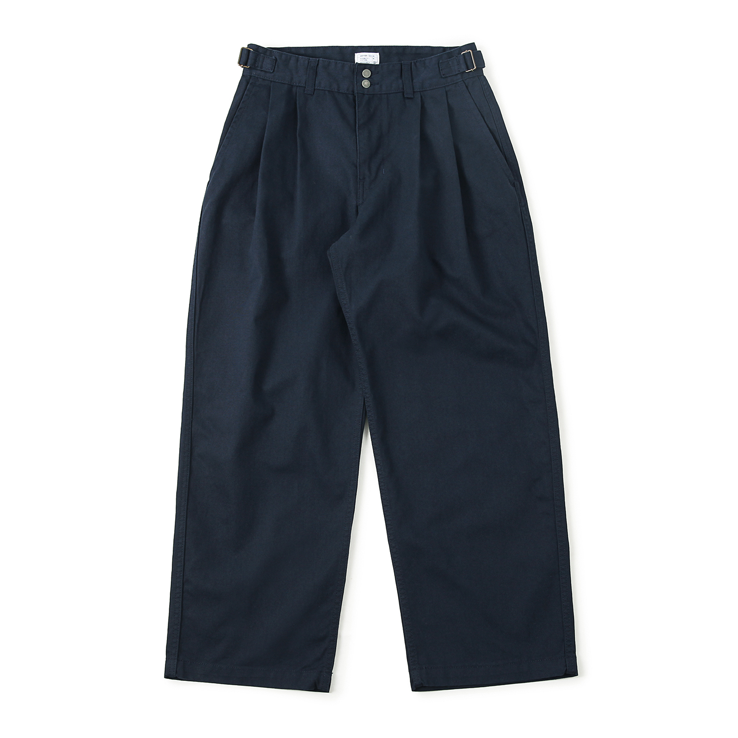 25% OFF_Homeboy Wide Two-Tuck Pants (Navy)
