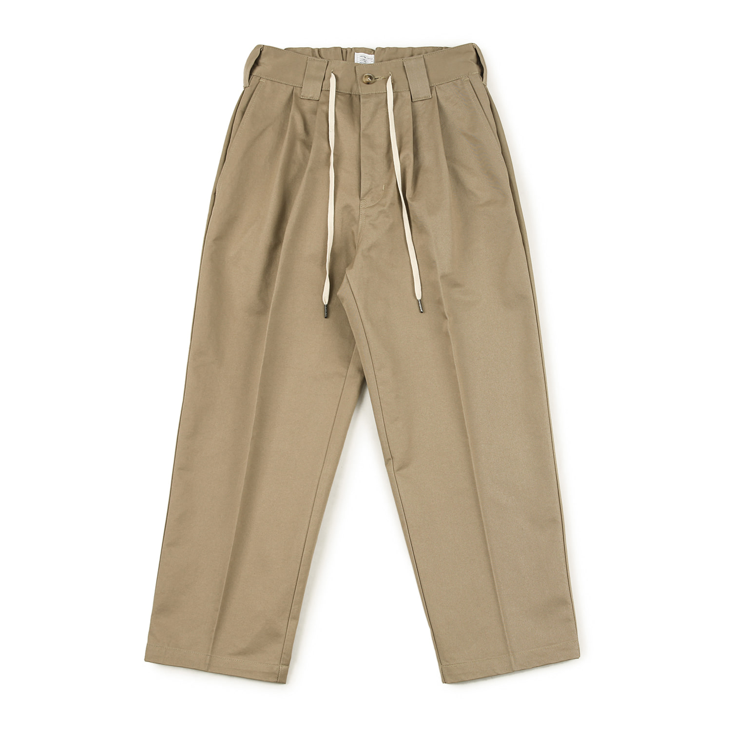 25% OFF_Skater Two tuck Pants (Khaki)