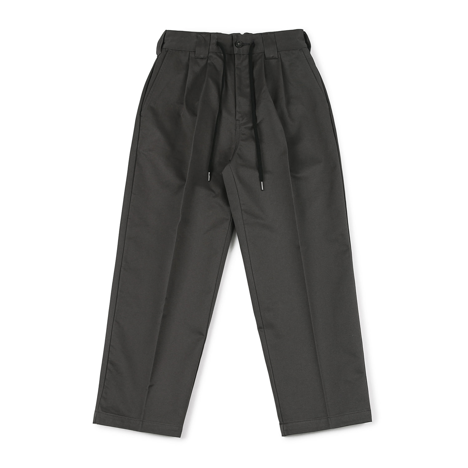 25% OFF_Skater Two tuck Pants (Graphite)