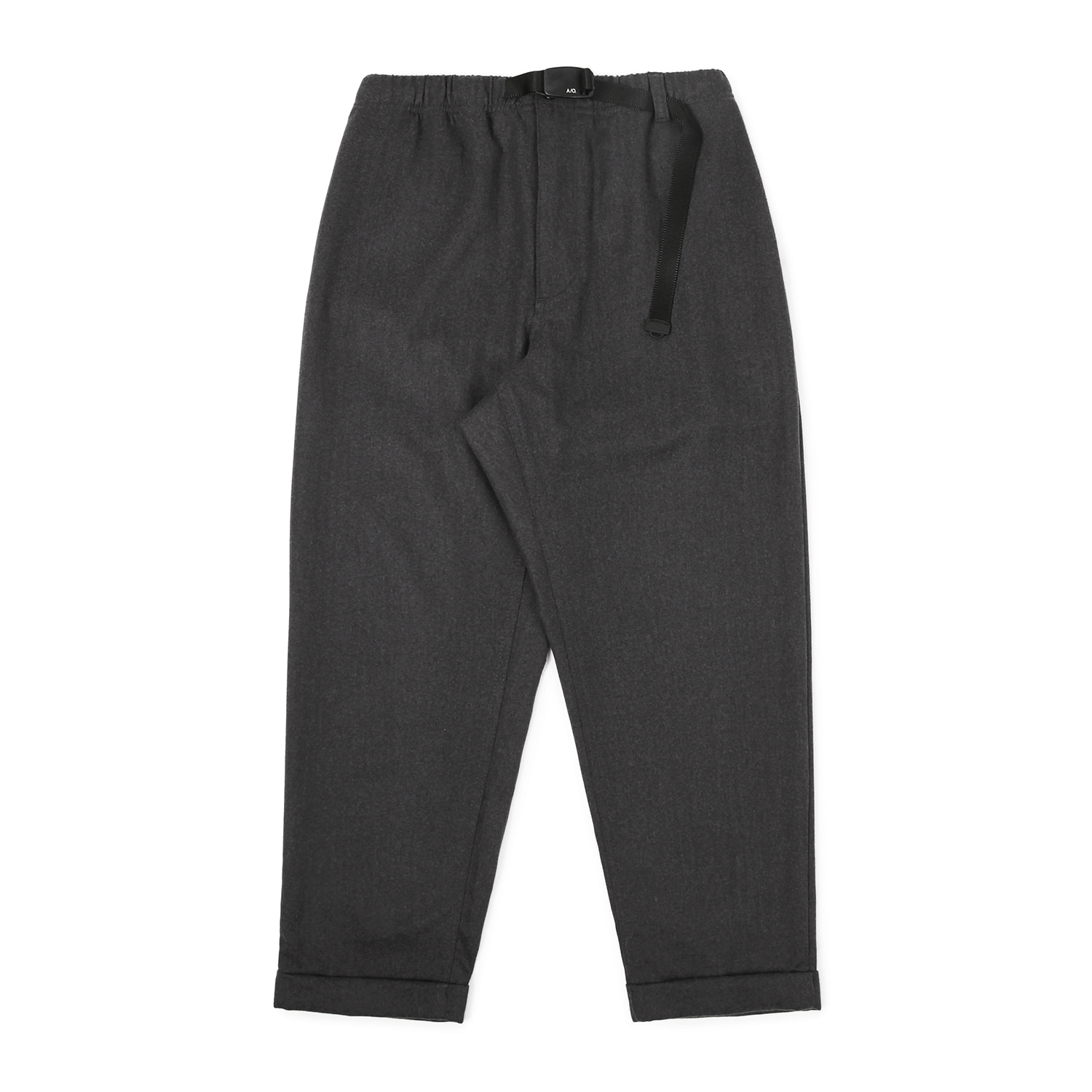 25% OFF_Stroller Herringbone Pants (Charcoal)