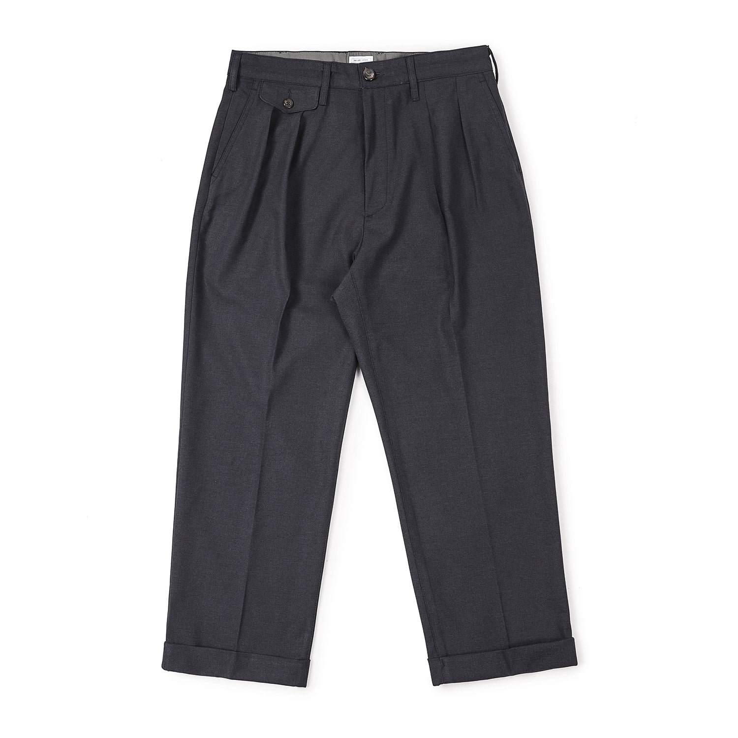 25% OFF_Newtype Turn-up Pants (Charcoal)
