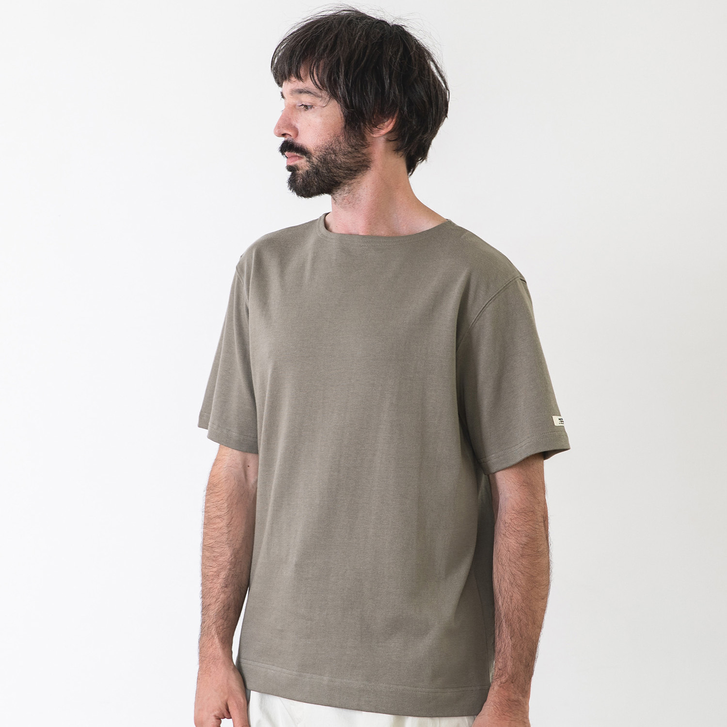 25% OFF_LIBRE PLAIN BASQUESHIRT (Concrete)