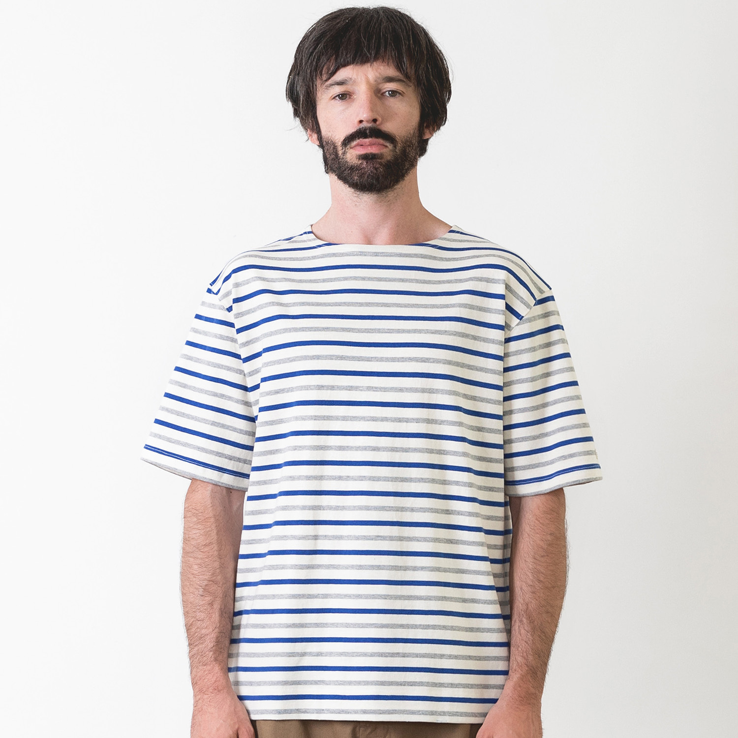 25% OFF_PIER BASQUESHIRT (Ecru/Multi)