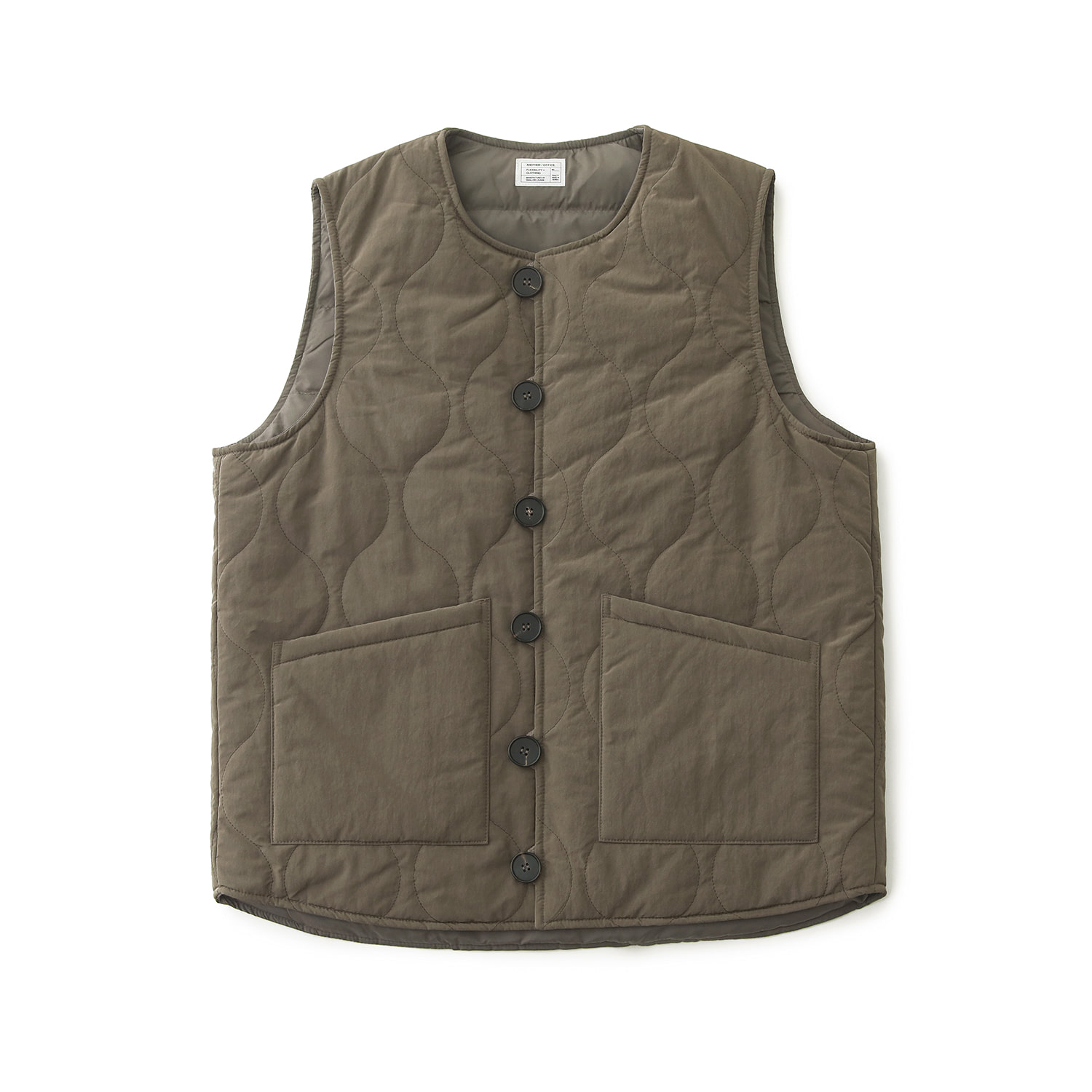 Layer Down Vest (Khaki)