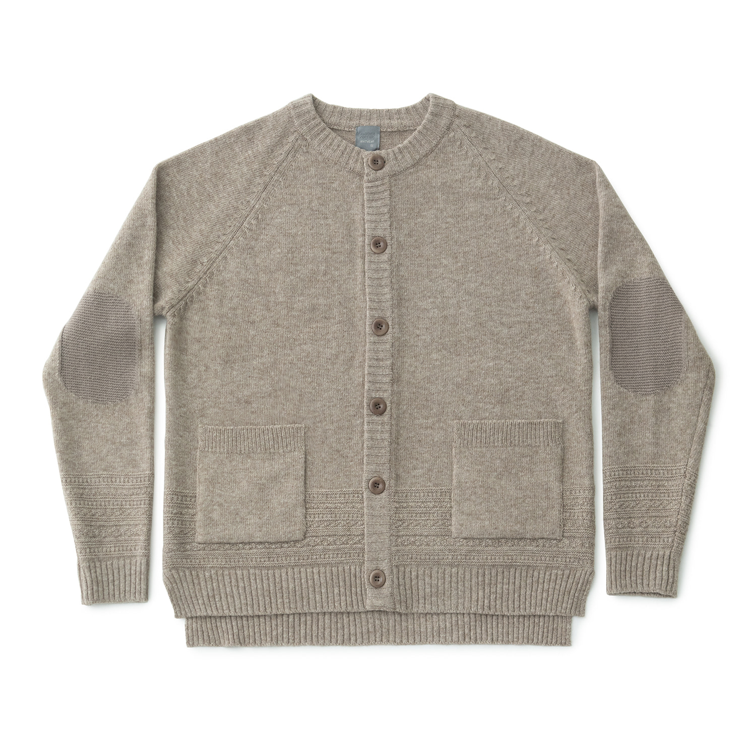 Gentle Links Cardigan (Oatmeal)