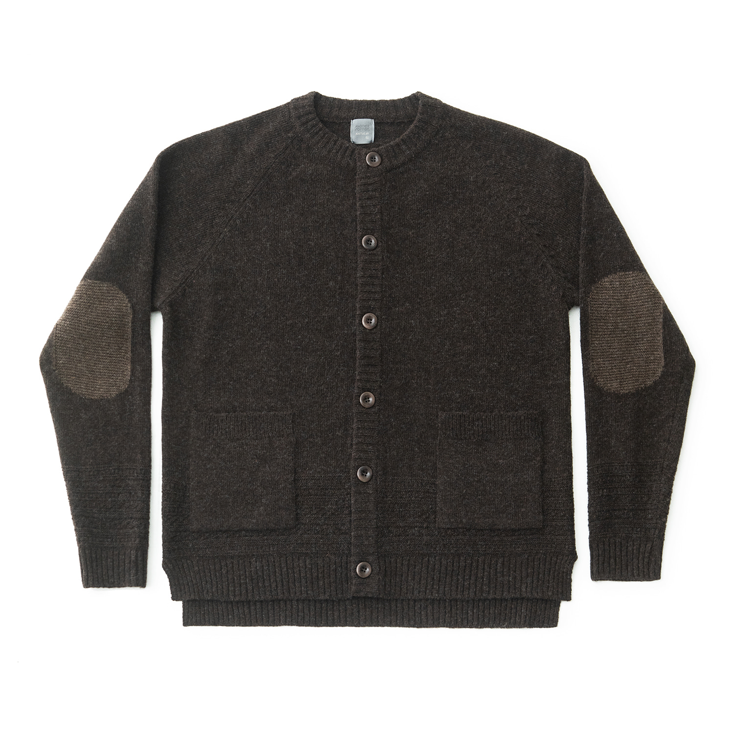 Gentle Links Cardigan (Dark Brown)