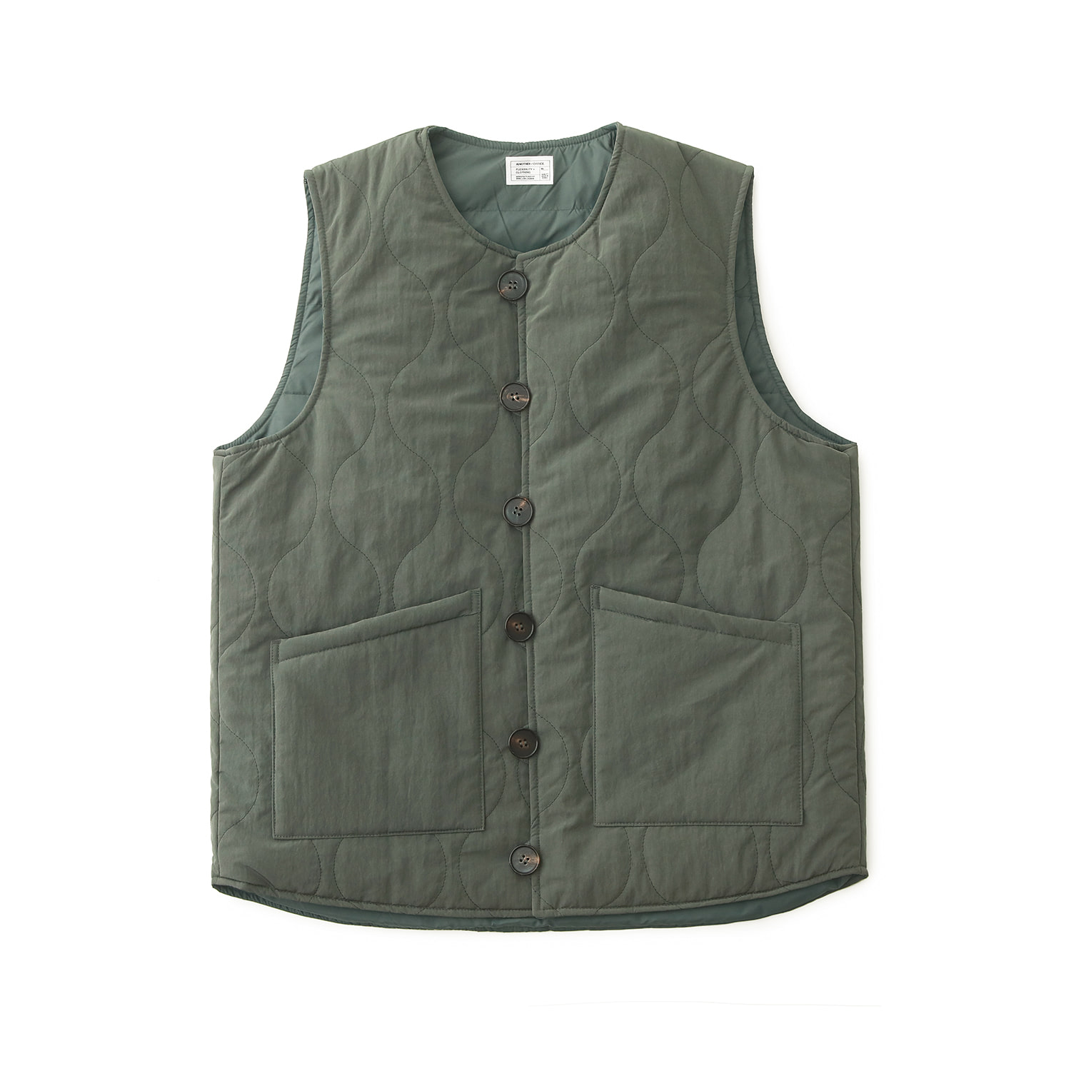 Layer Down Vest (Sage)