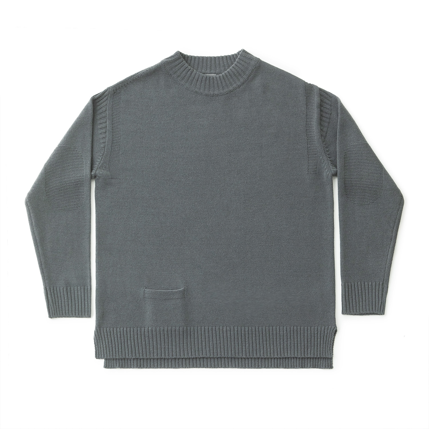 Sailor Guernsey Sweater (Steel Grey)