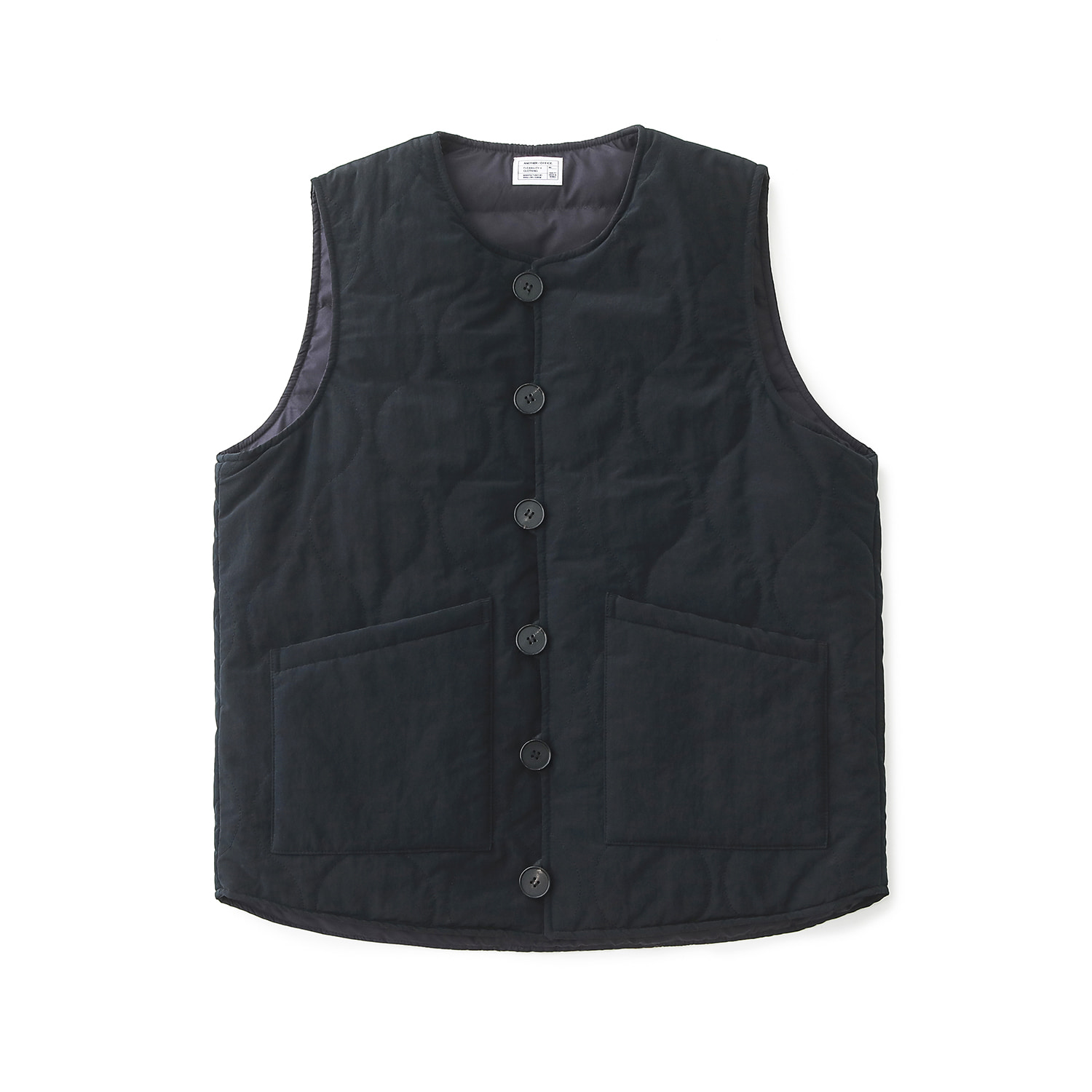 Layer Down Vest (Navy)