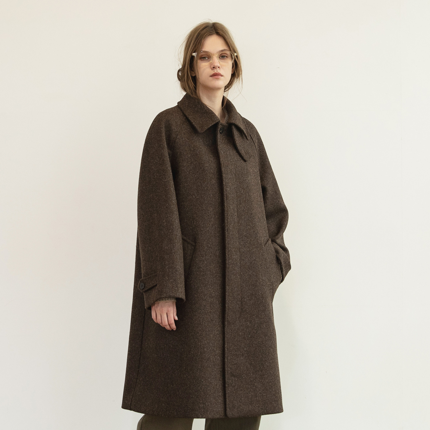 Women Legacy Balmacaan (Moontweed Brown)