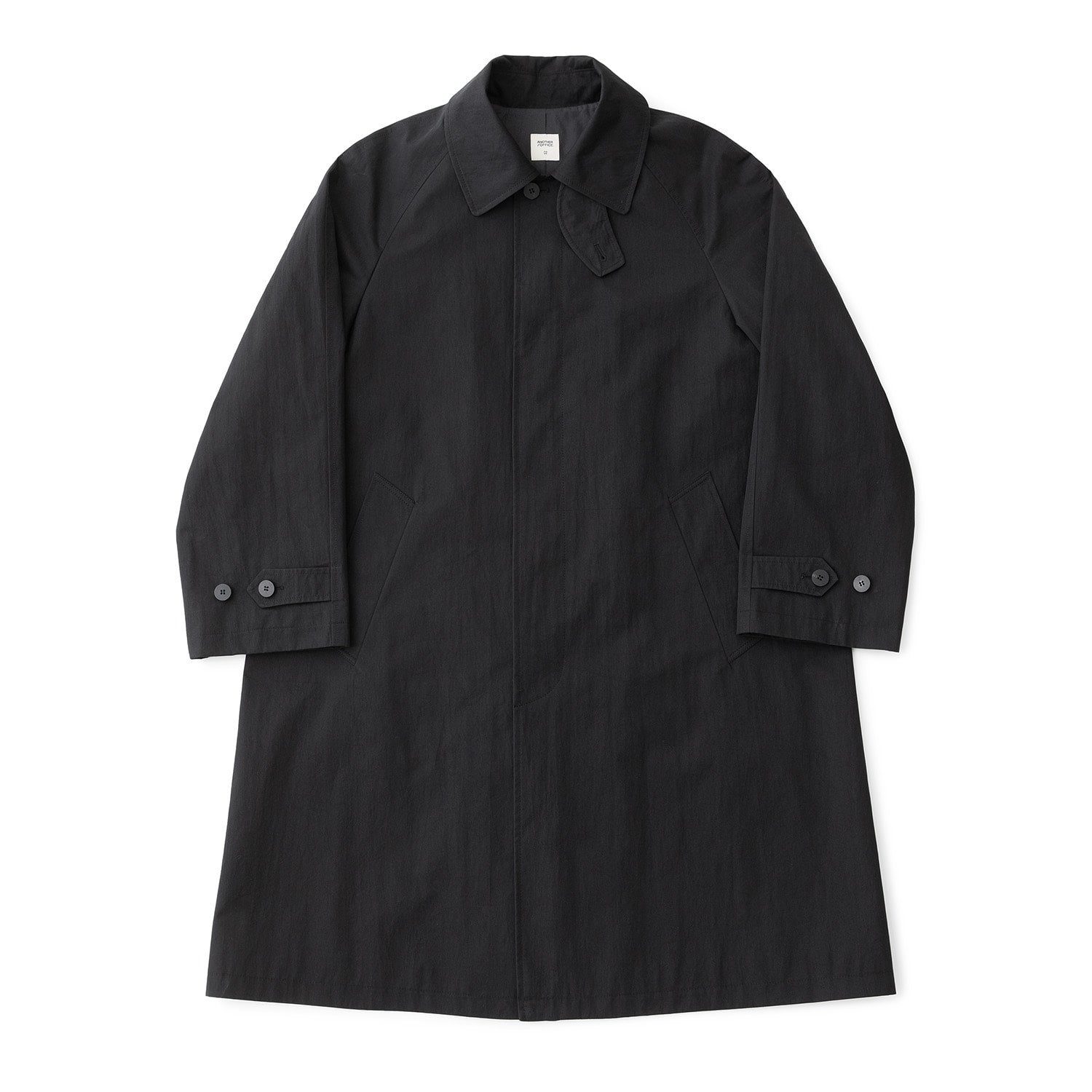 Legacy Balmacaan Coat (Black)