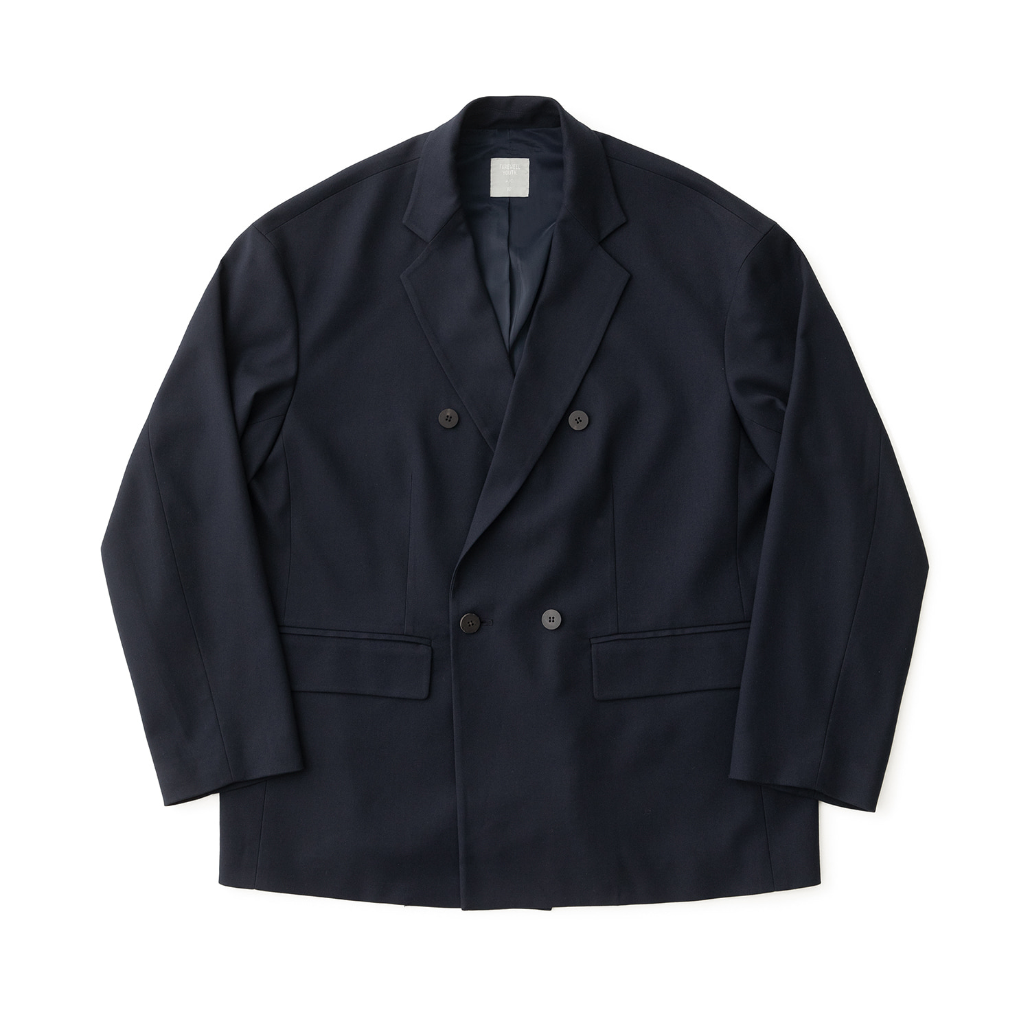 Calm Double Jacket (Navy)