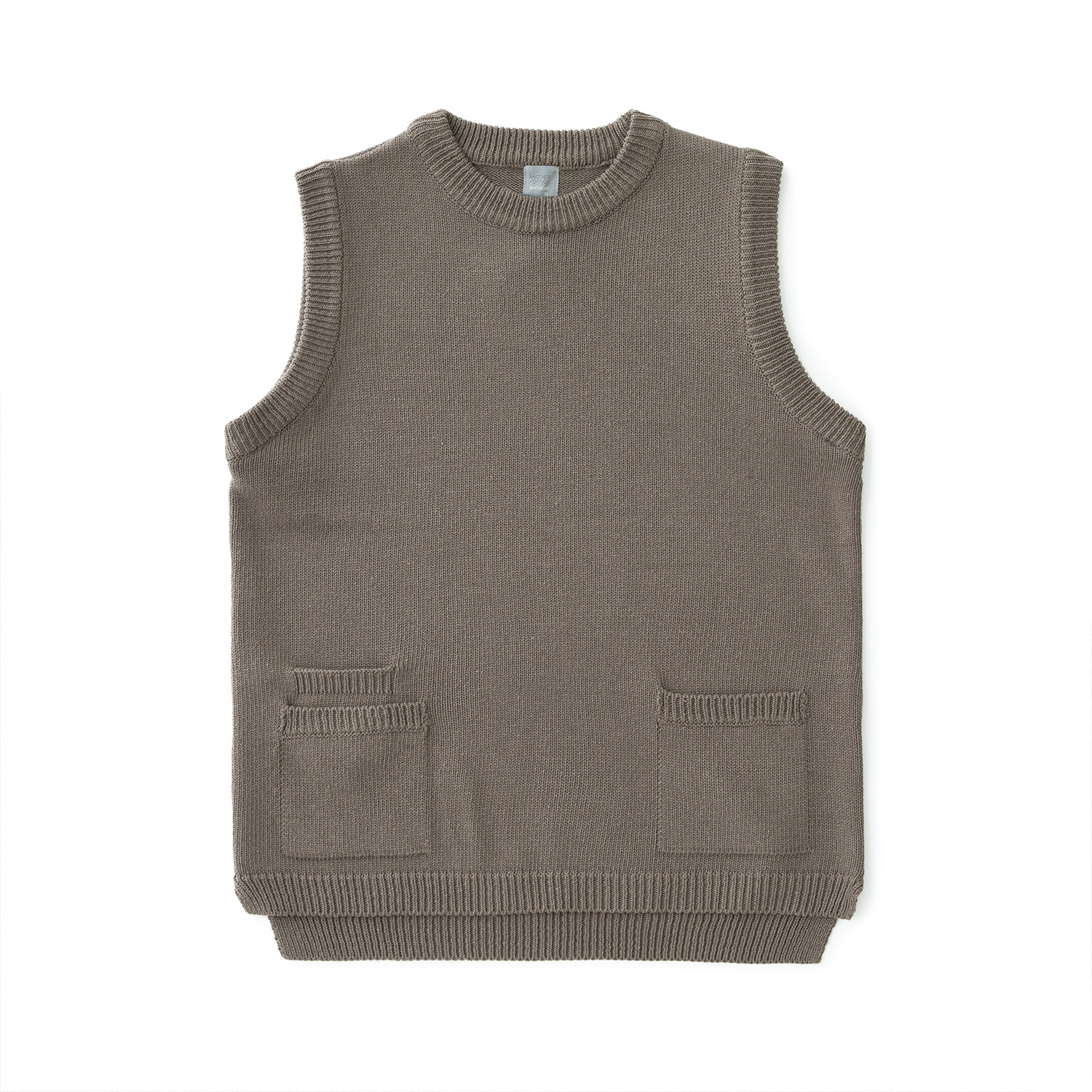 Balance Knit Vest (Warm Gray)