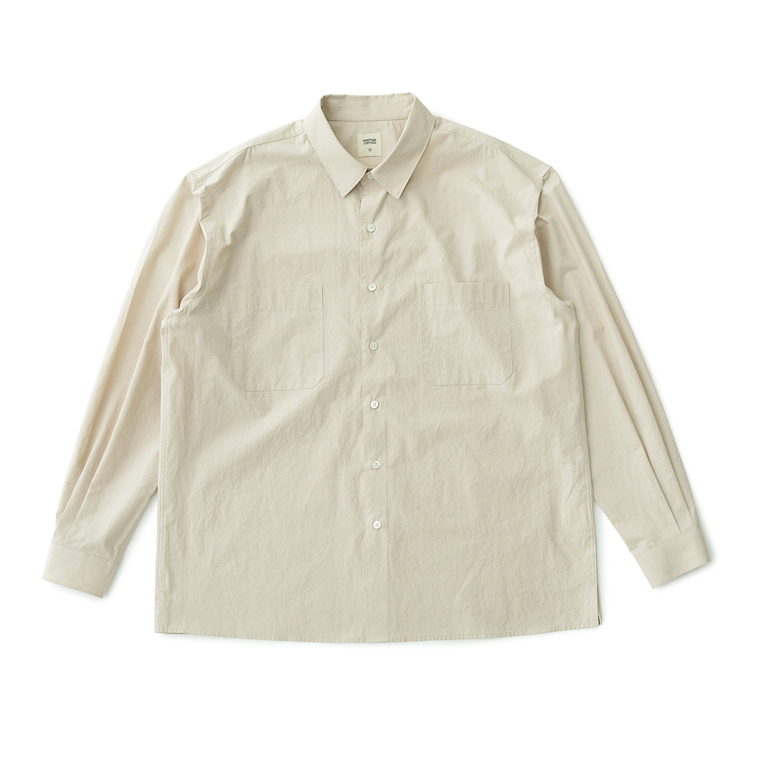 [재입고] Comfy Oversized Shirt (Oatmeal)