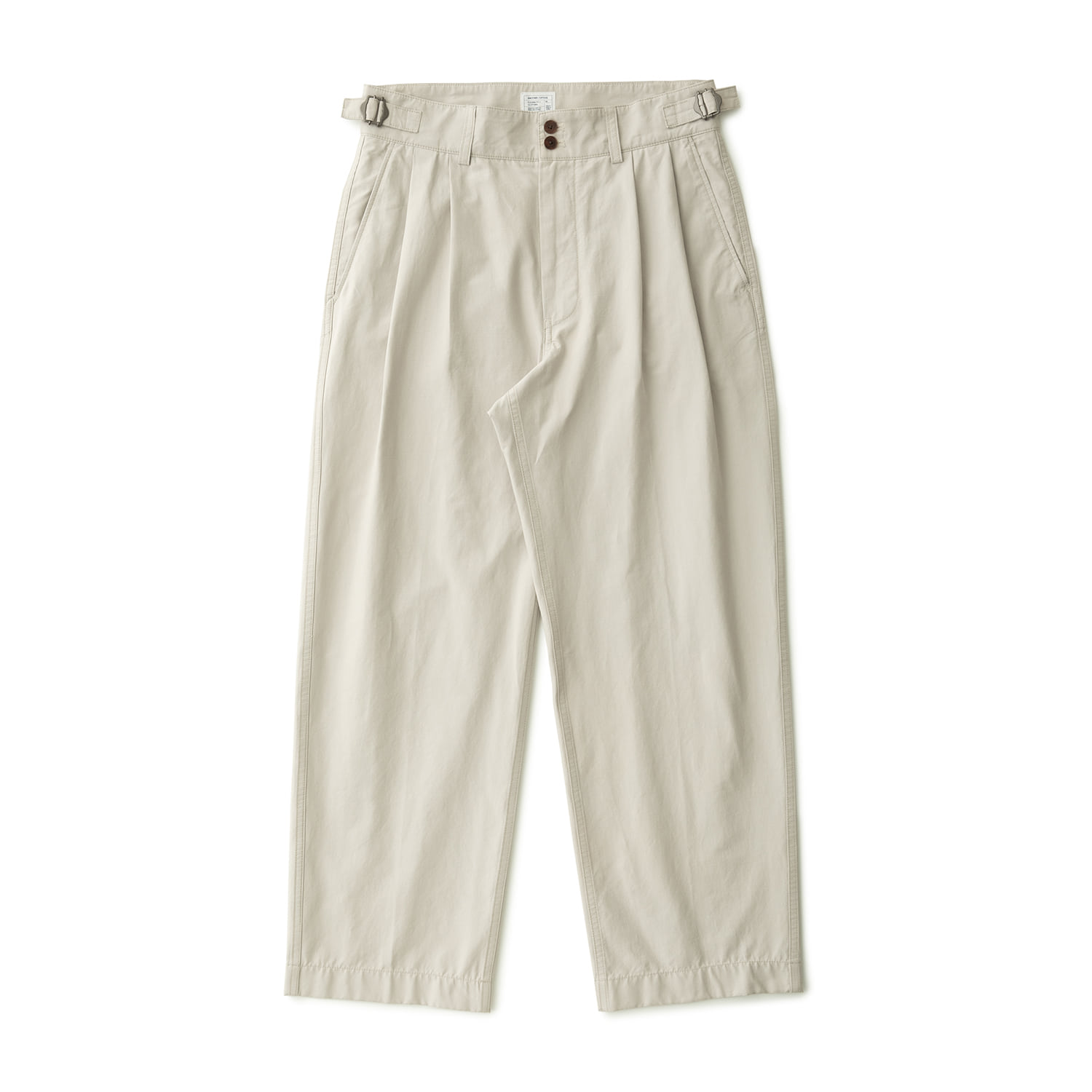 Santiago Doublecloth Pants (Almond Milk)