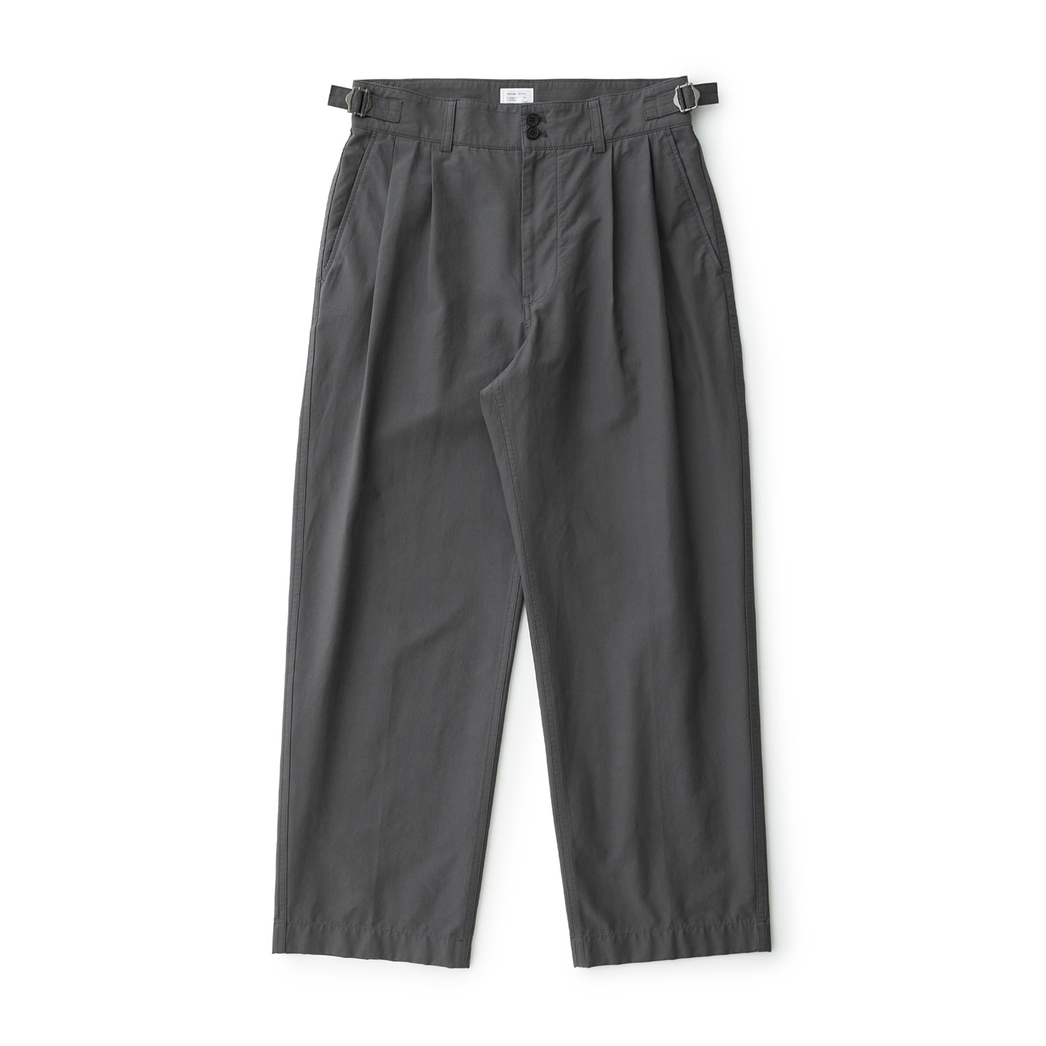 Santiago Doublecloth Pants (Carbon)