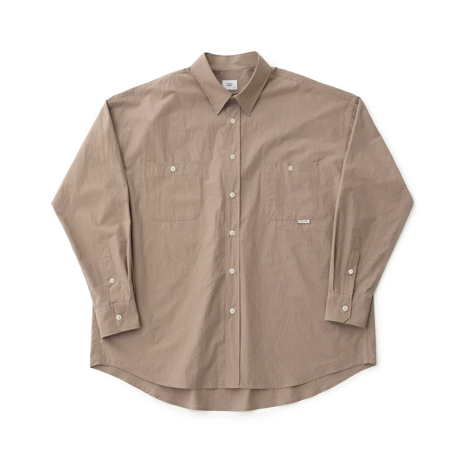 Broad Comfort Shirt (Taupe)