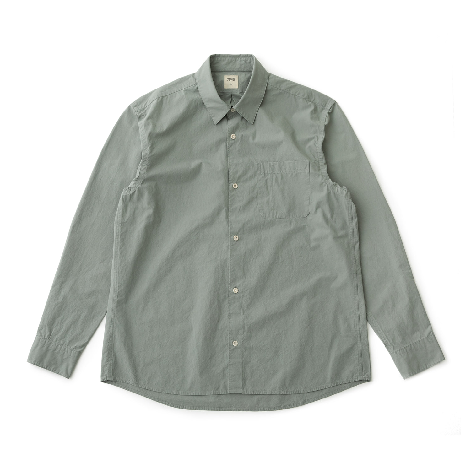 [재입고] Downtown Shirt (Sage Gray)