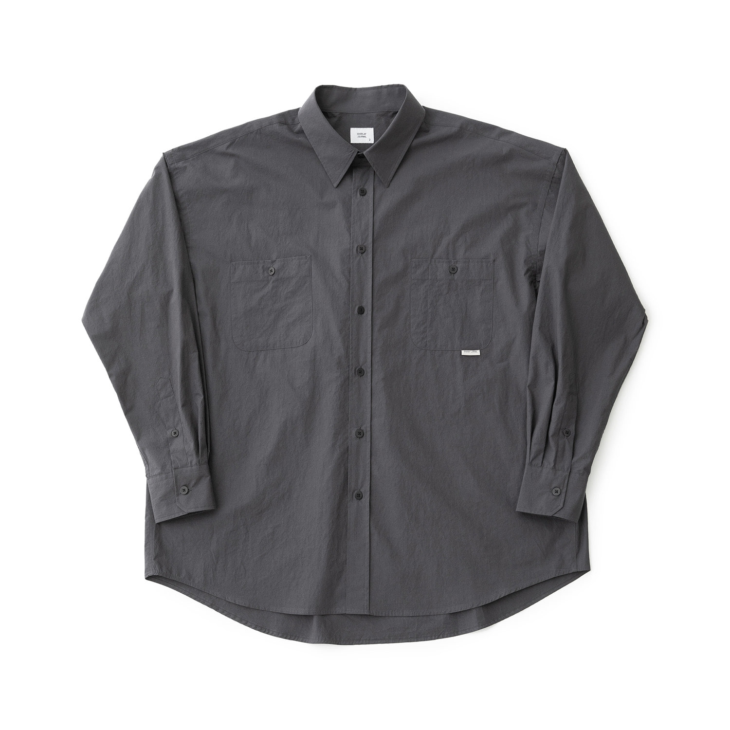 Broad Comfort Shirt (Charcoal)
