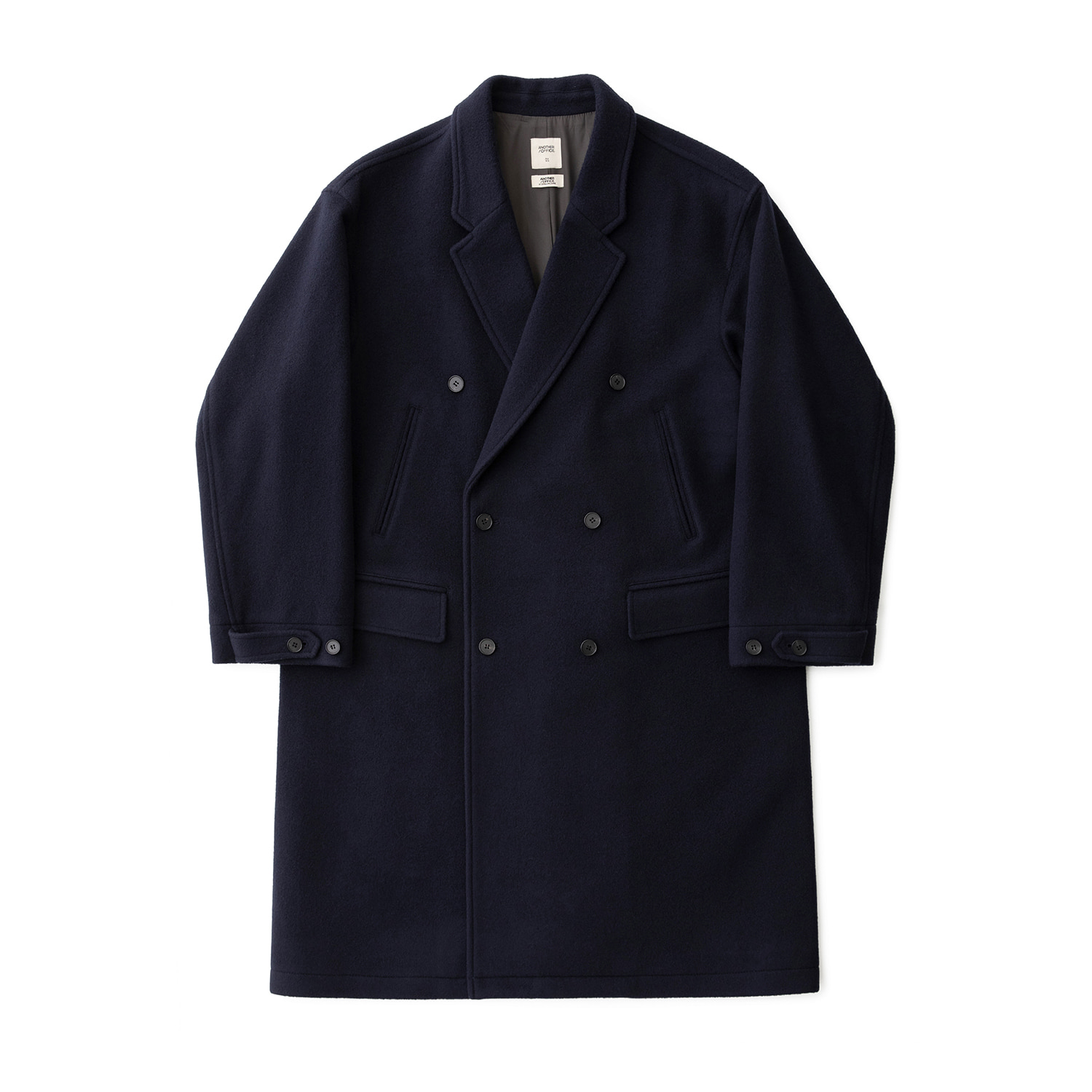Plenty Mosser Double Coat (Solid Navy)
