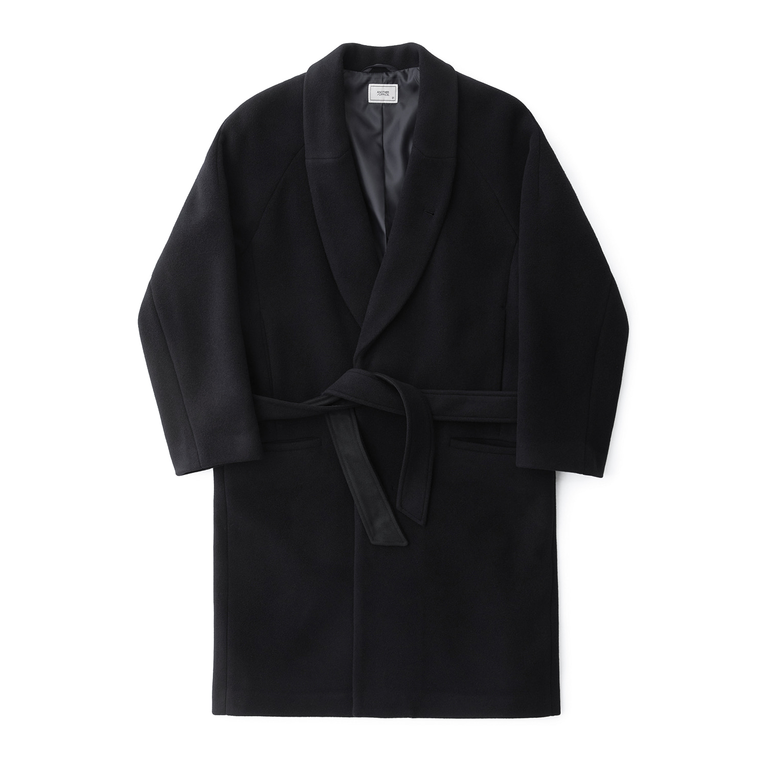 Morningcalm Mosser Robe Coat (Deep Navy)