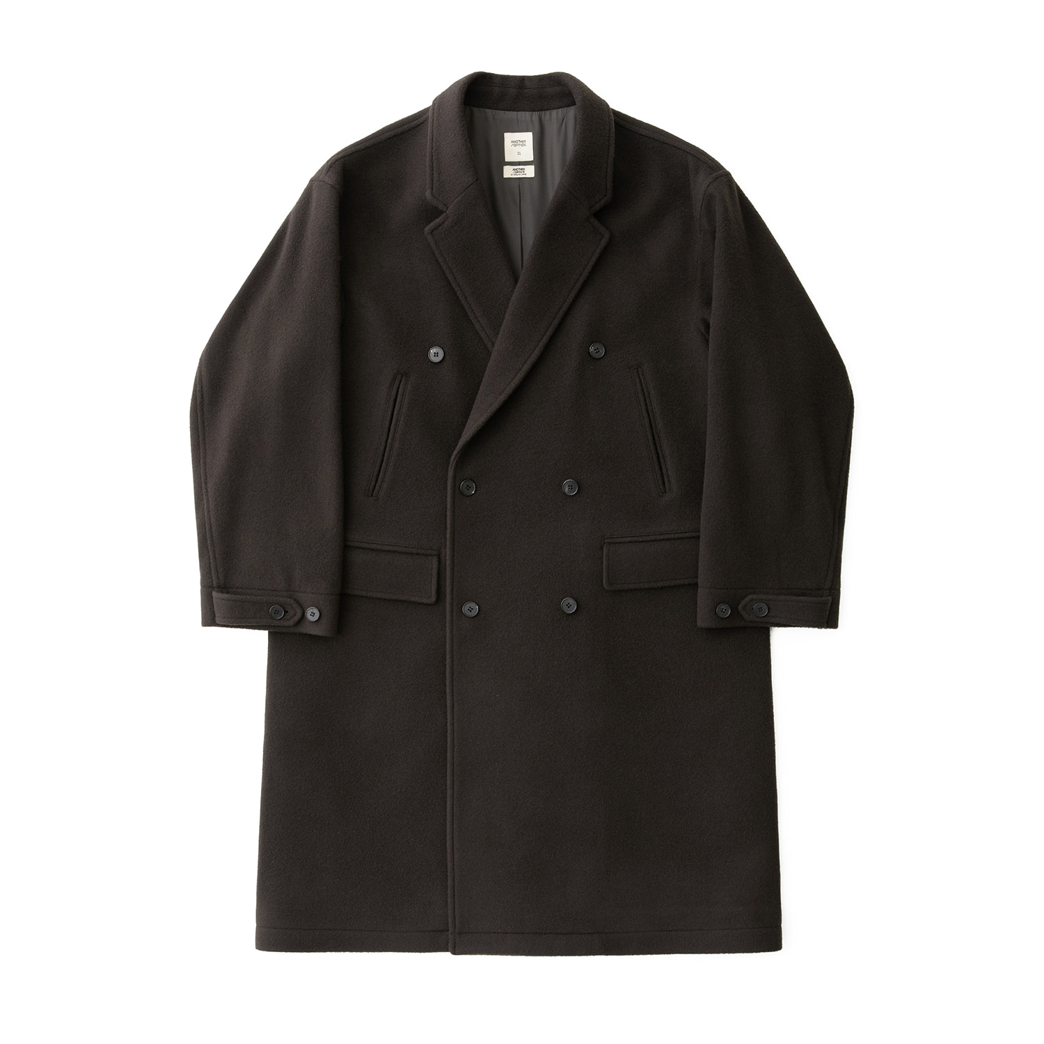 Plenty Mosser Double Coat (Charcoal Brown)