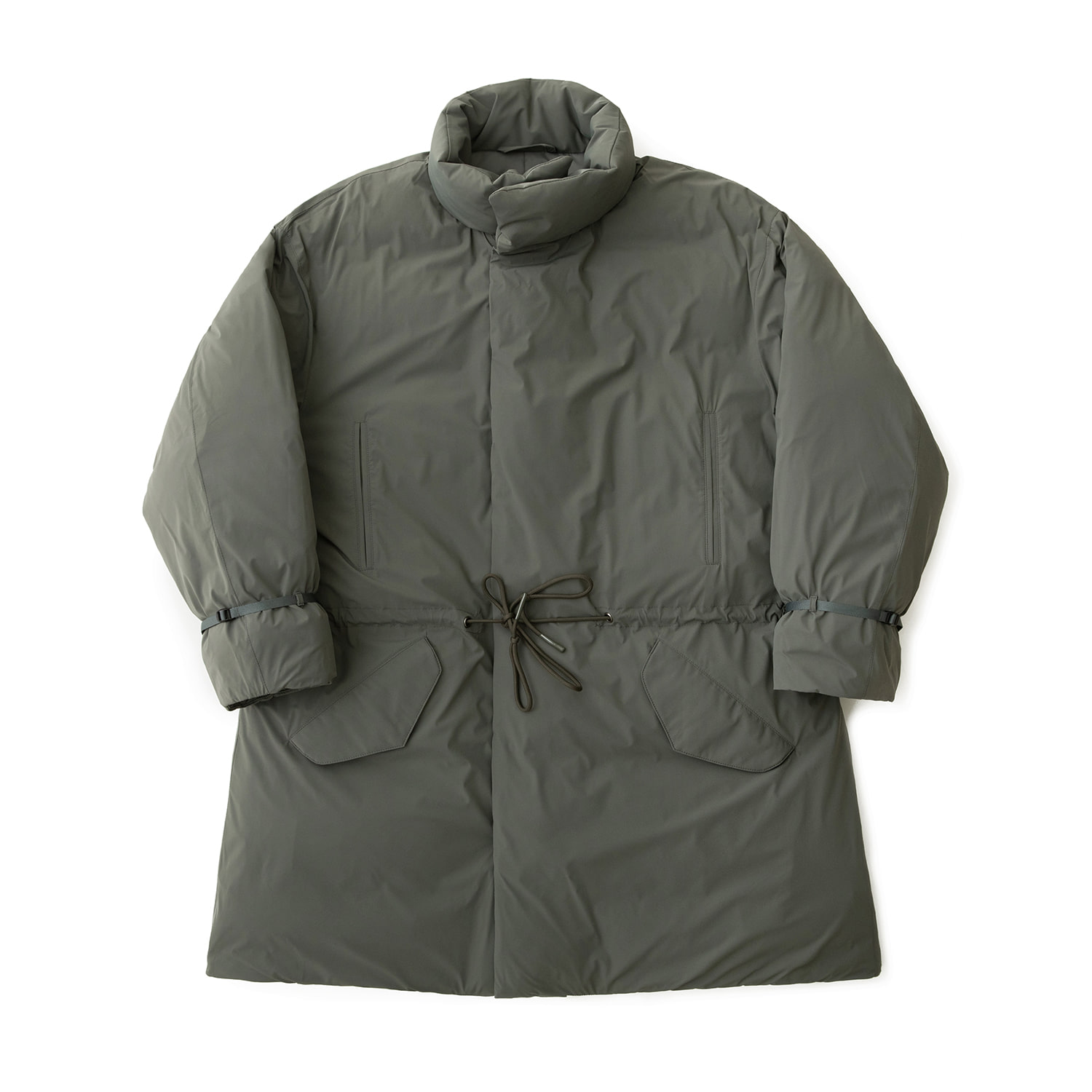 First Goosedown Parka (Sage Gray)