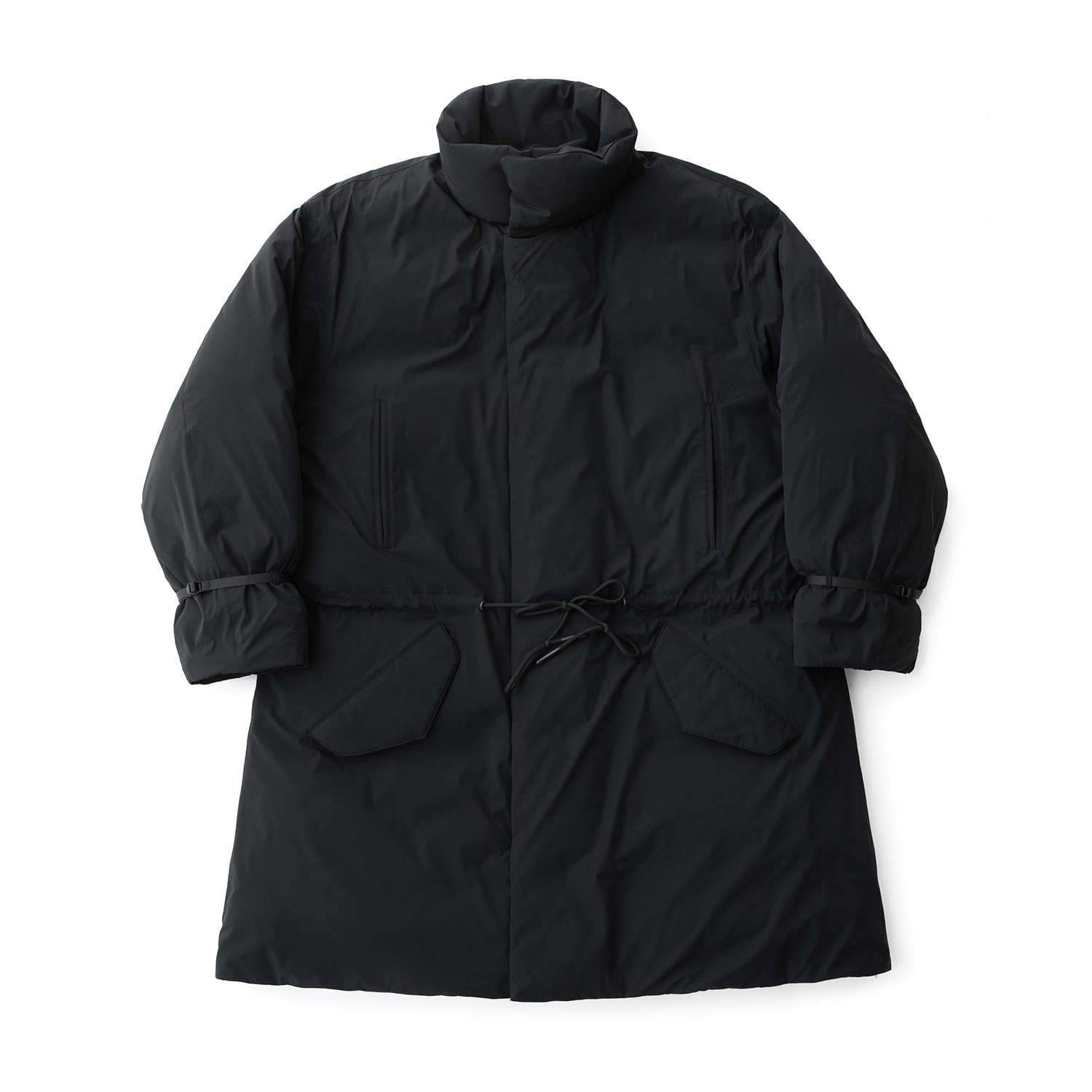 First Goosedown Parka (Ink Black)