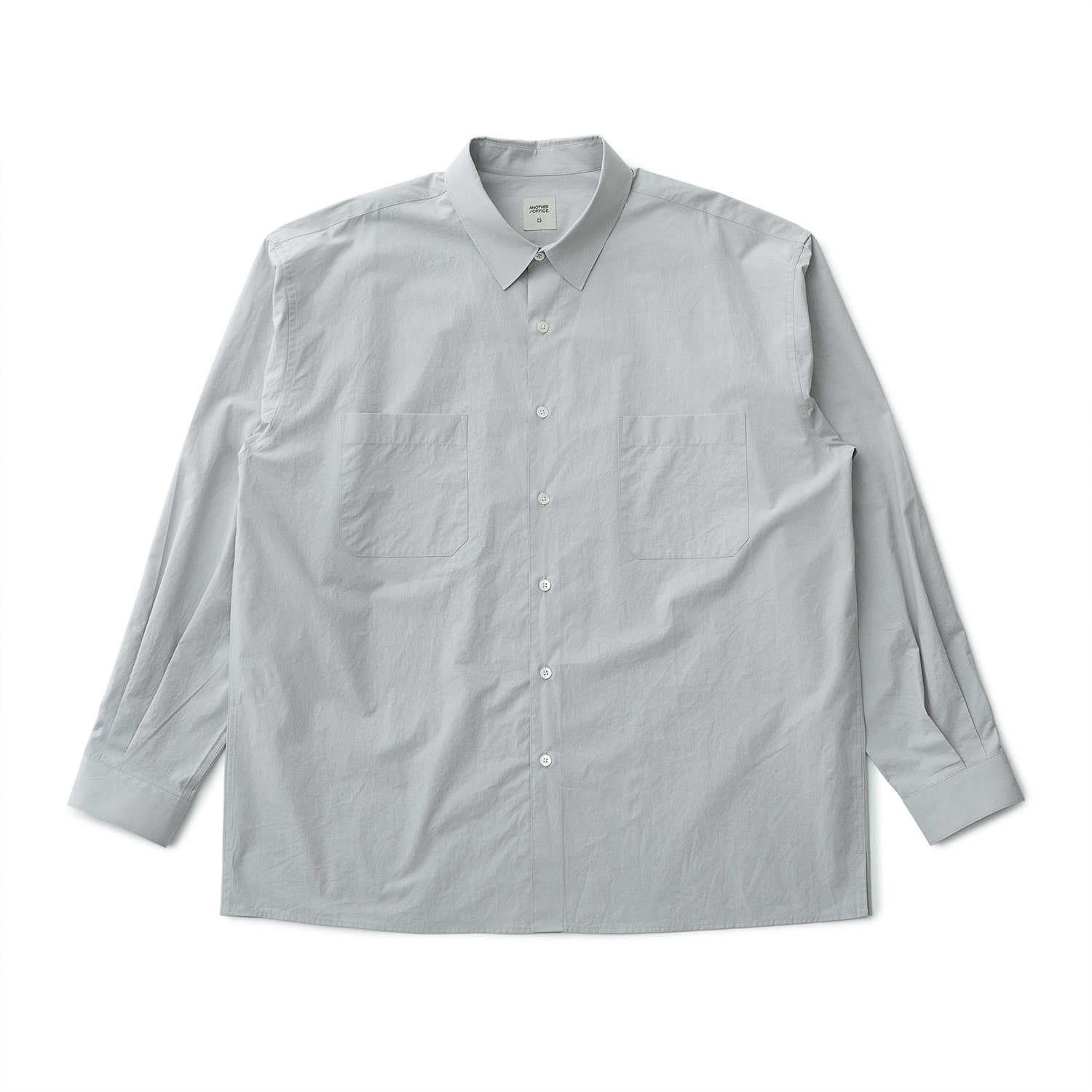 21SS Comfy Oversized Shirt (Dove Gray)