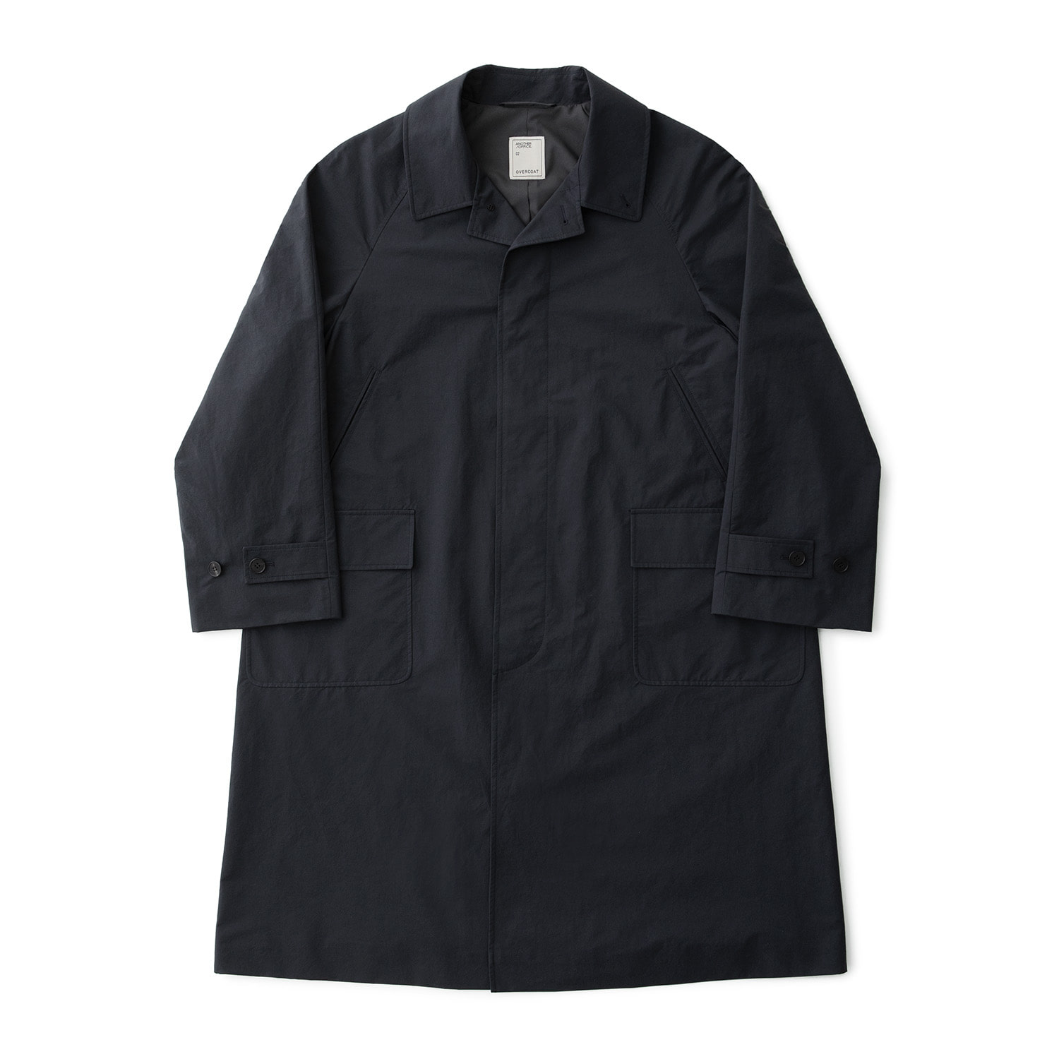 21SS Ample Balmacaan Coat (Club Navy)