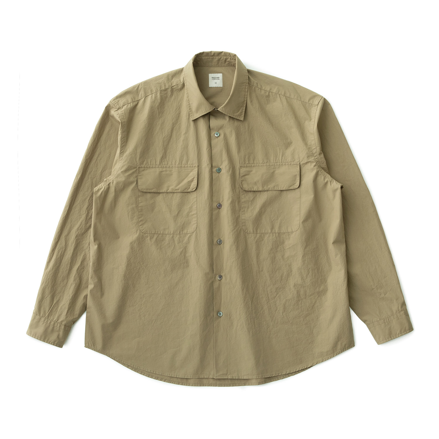 21SS Volume Shirt (Pale Khaki)