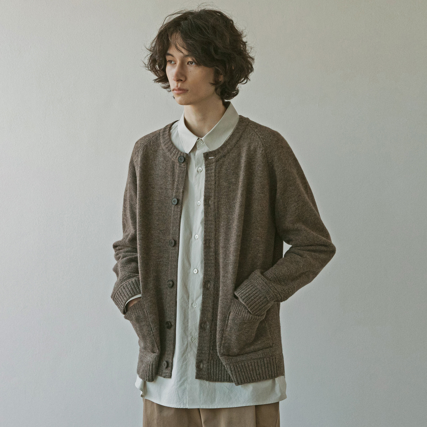 21SS Gentle Link Cardigan (Earth)