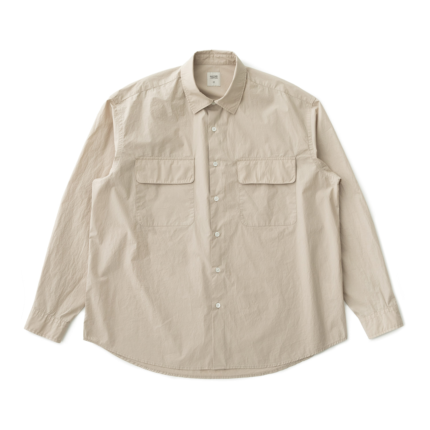 21SS Volume Shirt (Light Beige)